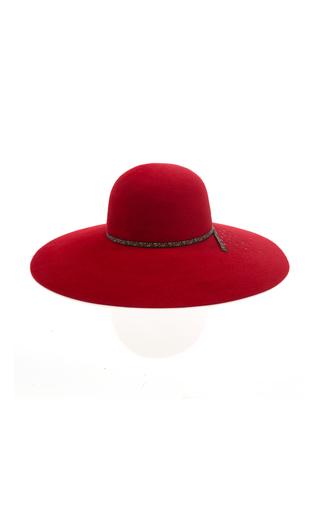Blanche Capeline Embellished Felt Hat Maison Michel mKyN9V