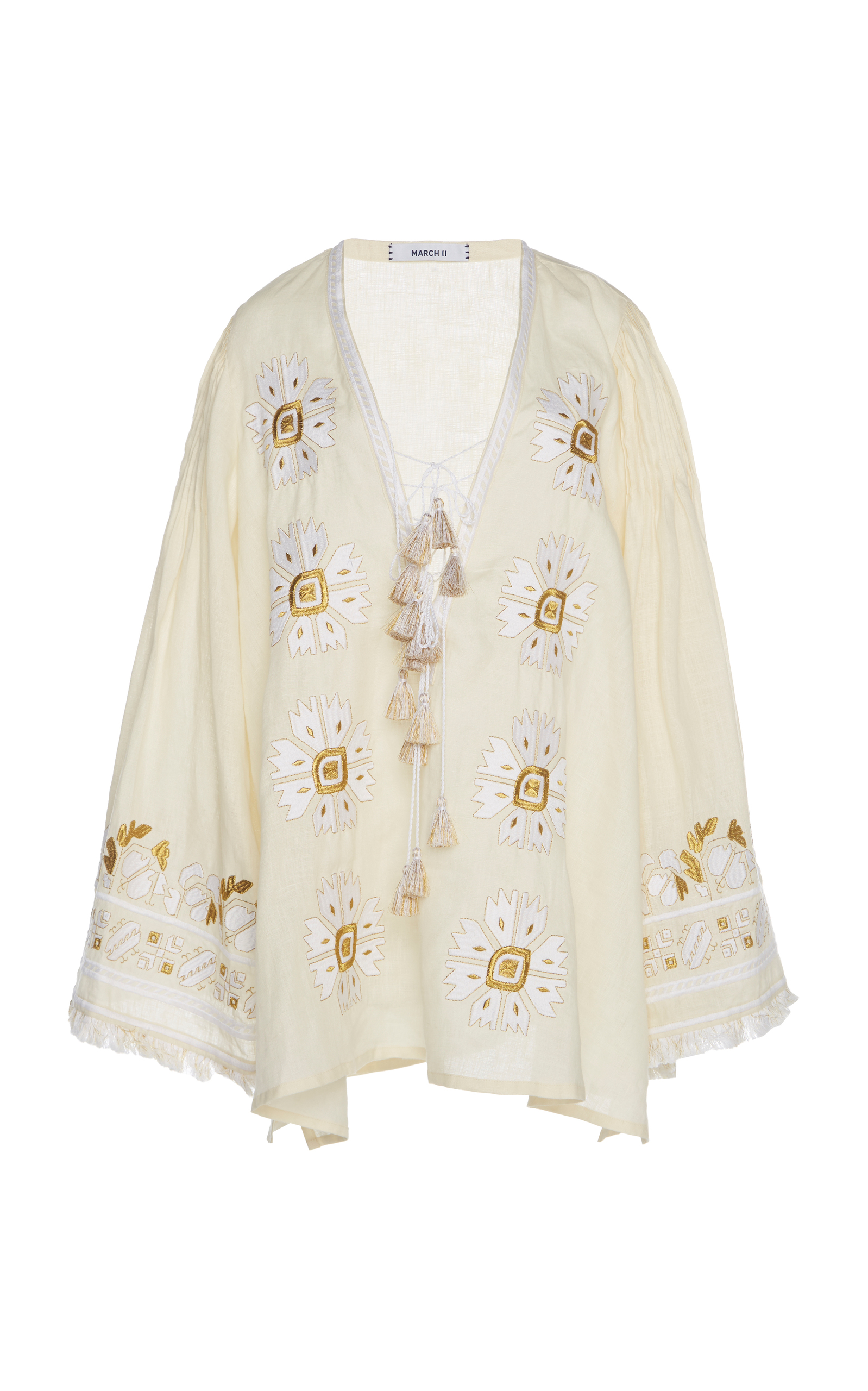 MARCH11 Kelly Tunic in White