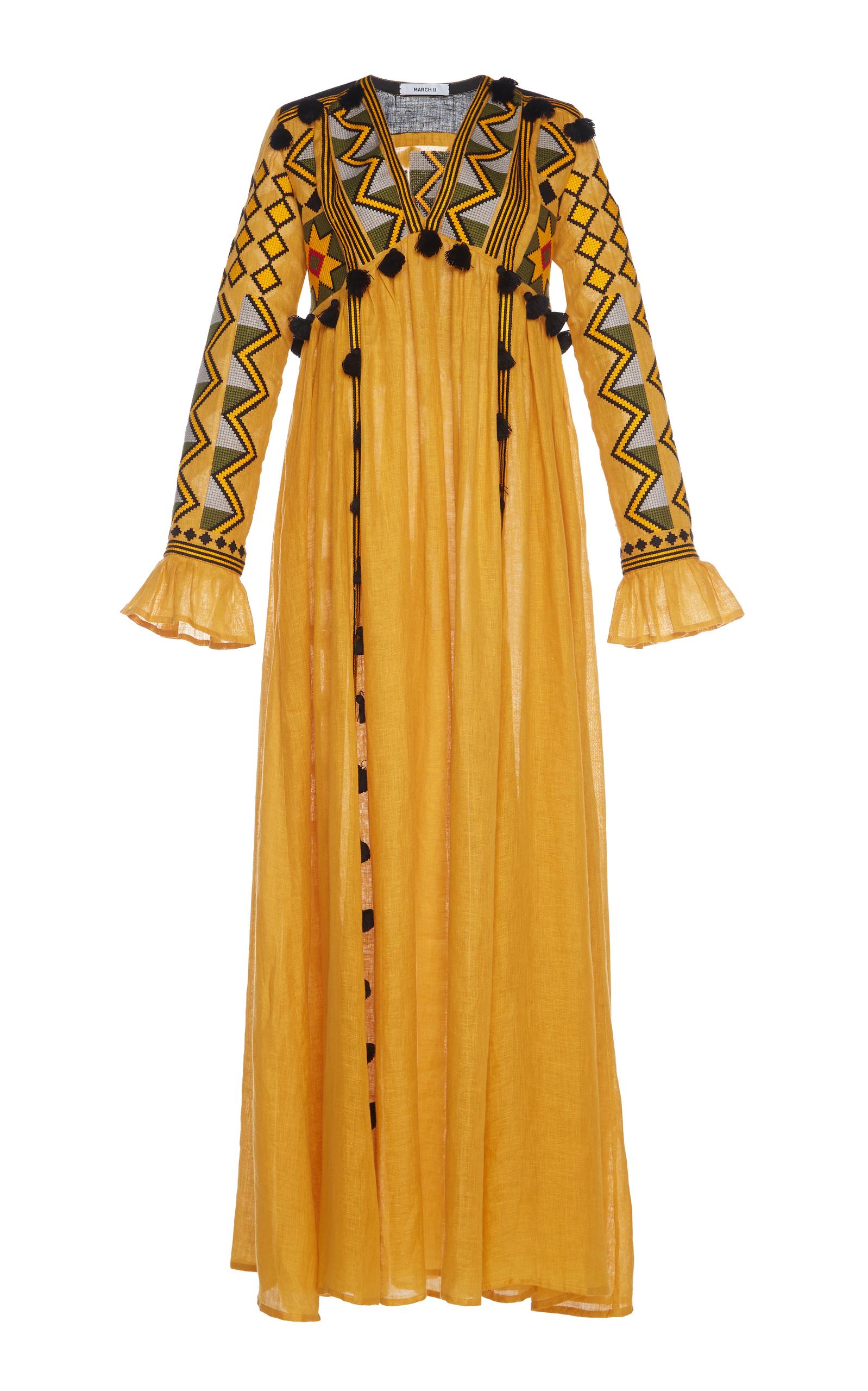 MARCH11 Kim Maxi Dress in Yellow