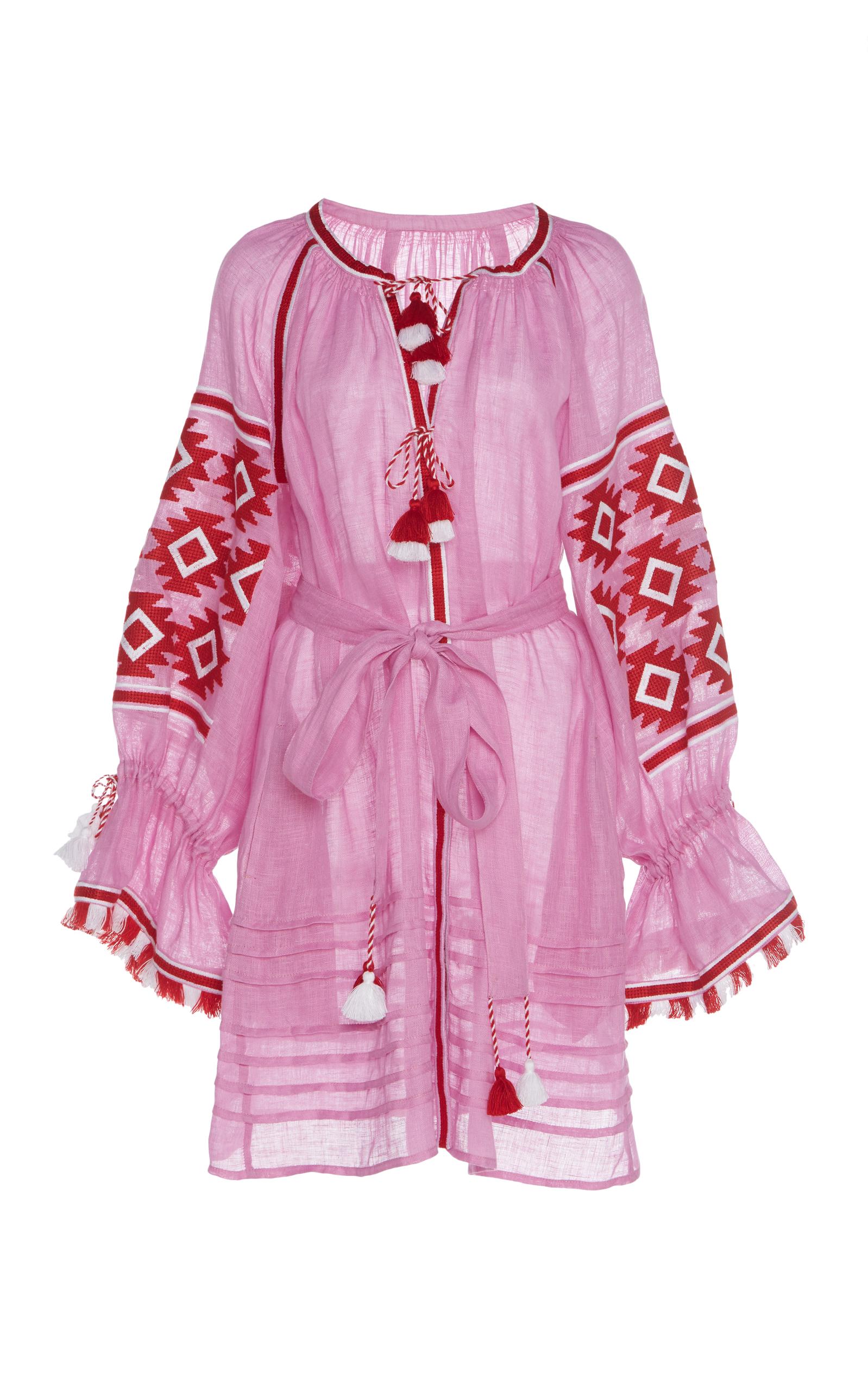 MARCH11 Geometry Mini Dress in Pink