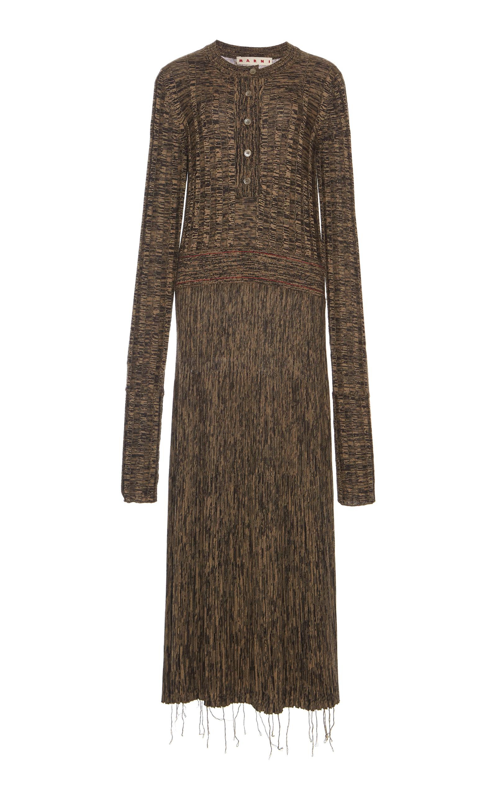 Marni  LONG KNIT DRESS