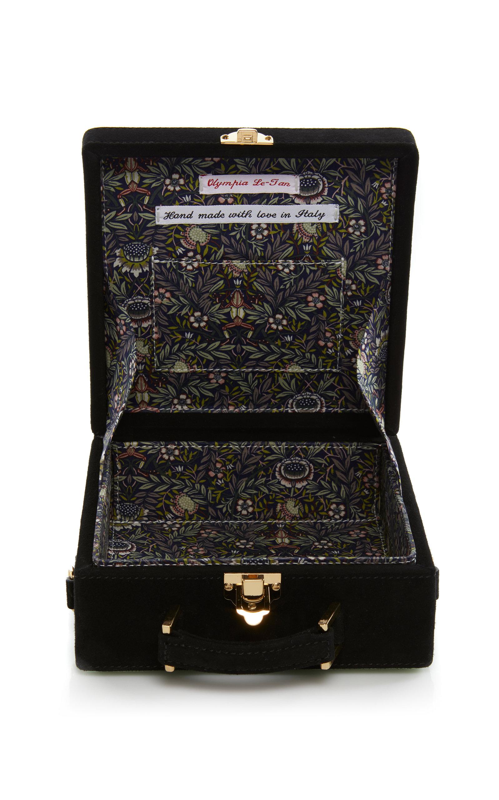 Olympia Le-Tan Collect Salary Box Bag h3Ll1vRkwH