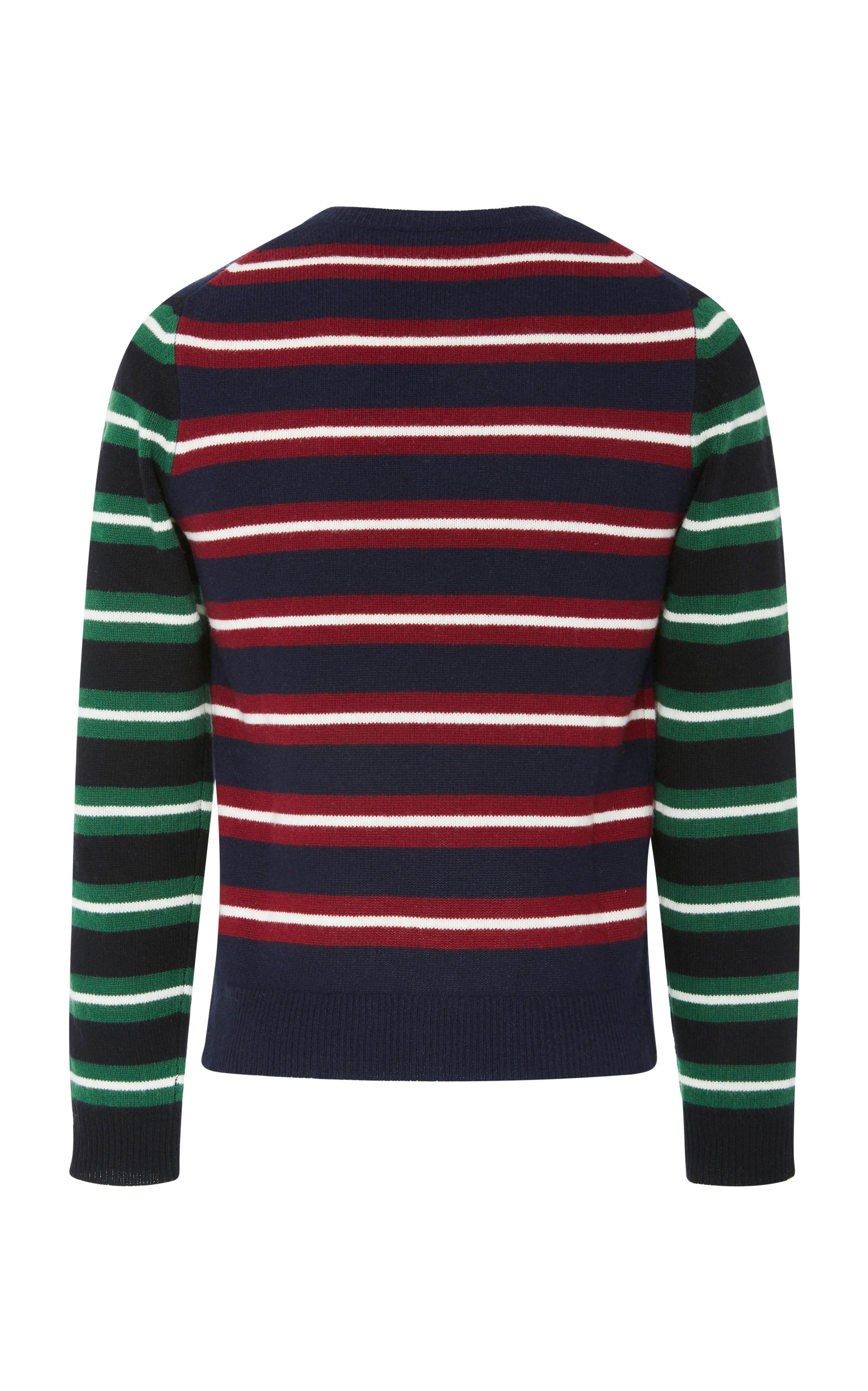 anderson Striped embroidered Wool Logo Sweater J w SUq4p