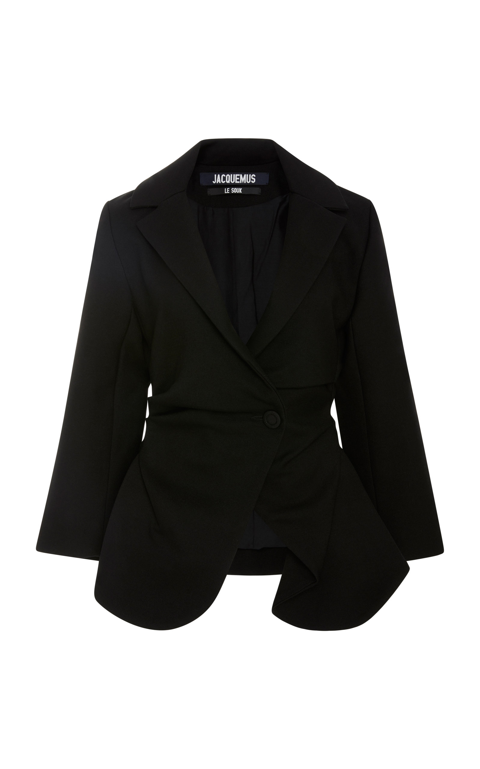 La Vesta Baija Jacket In Black