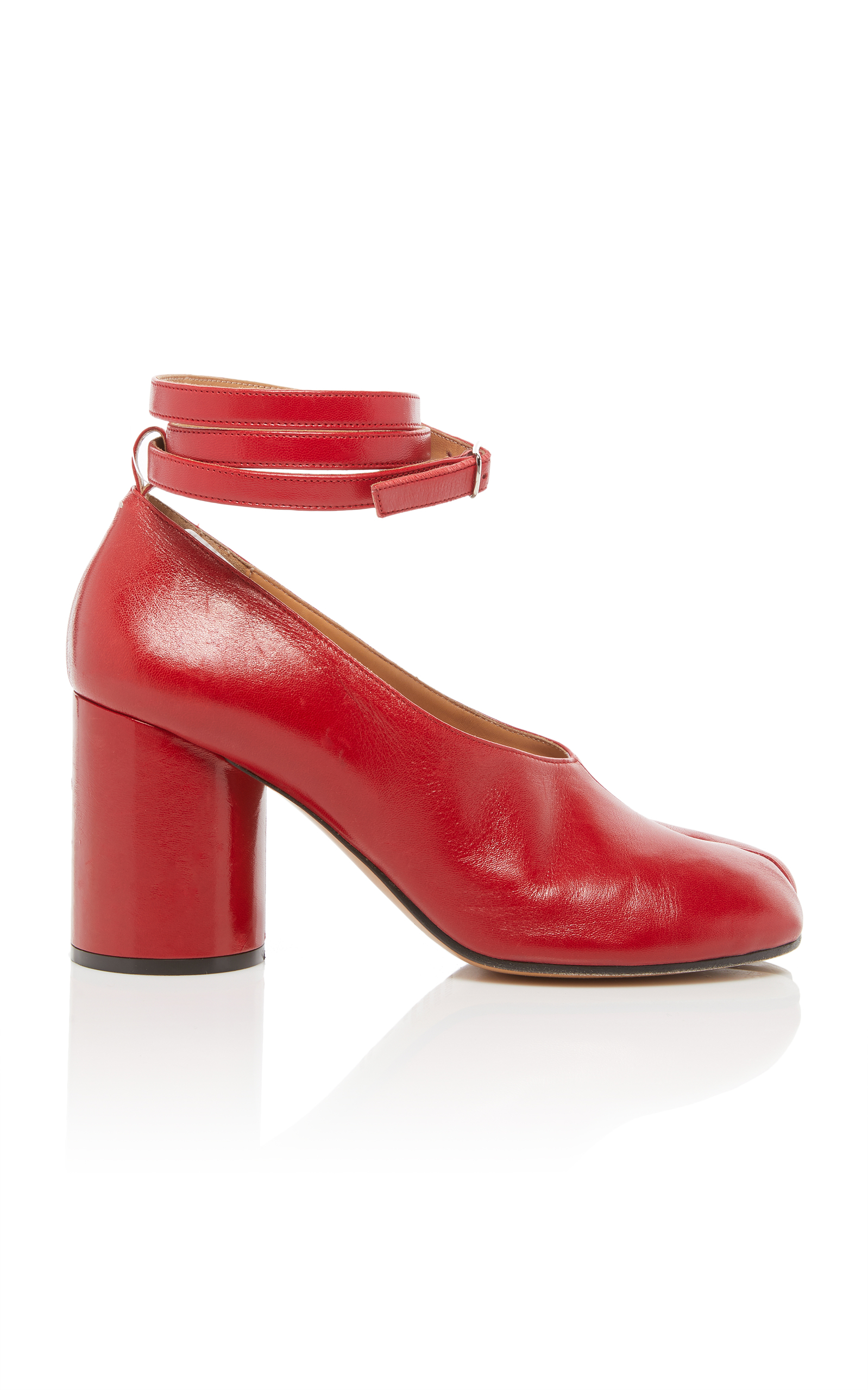 Maison Martin Margiela Tabi Pumps, Red