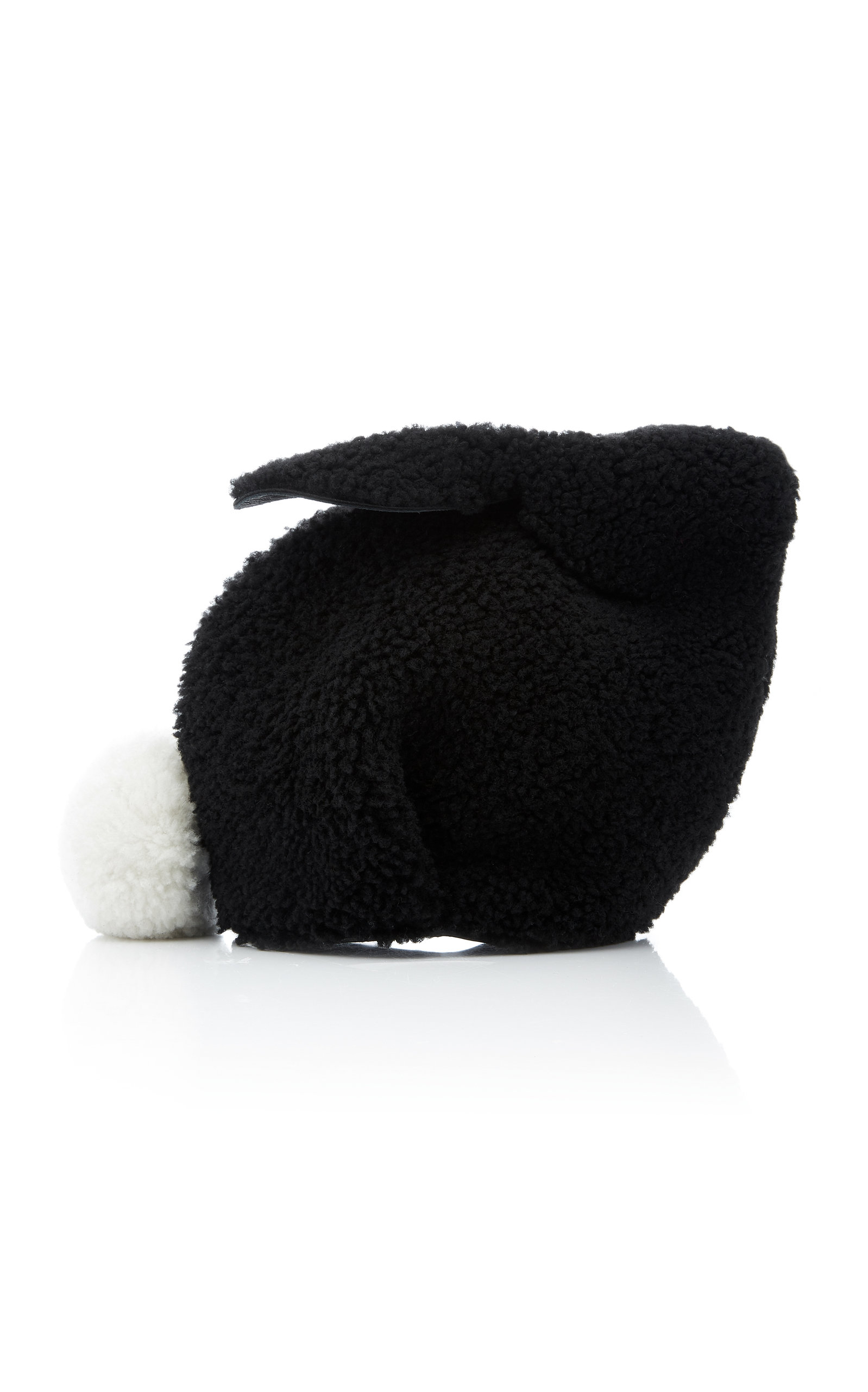50619d5c158 Bunny Mini Shearling Crossbody Bag by Loewe