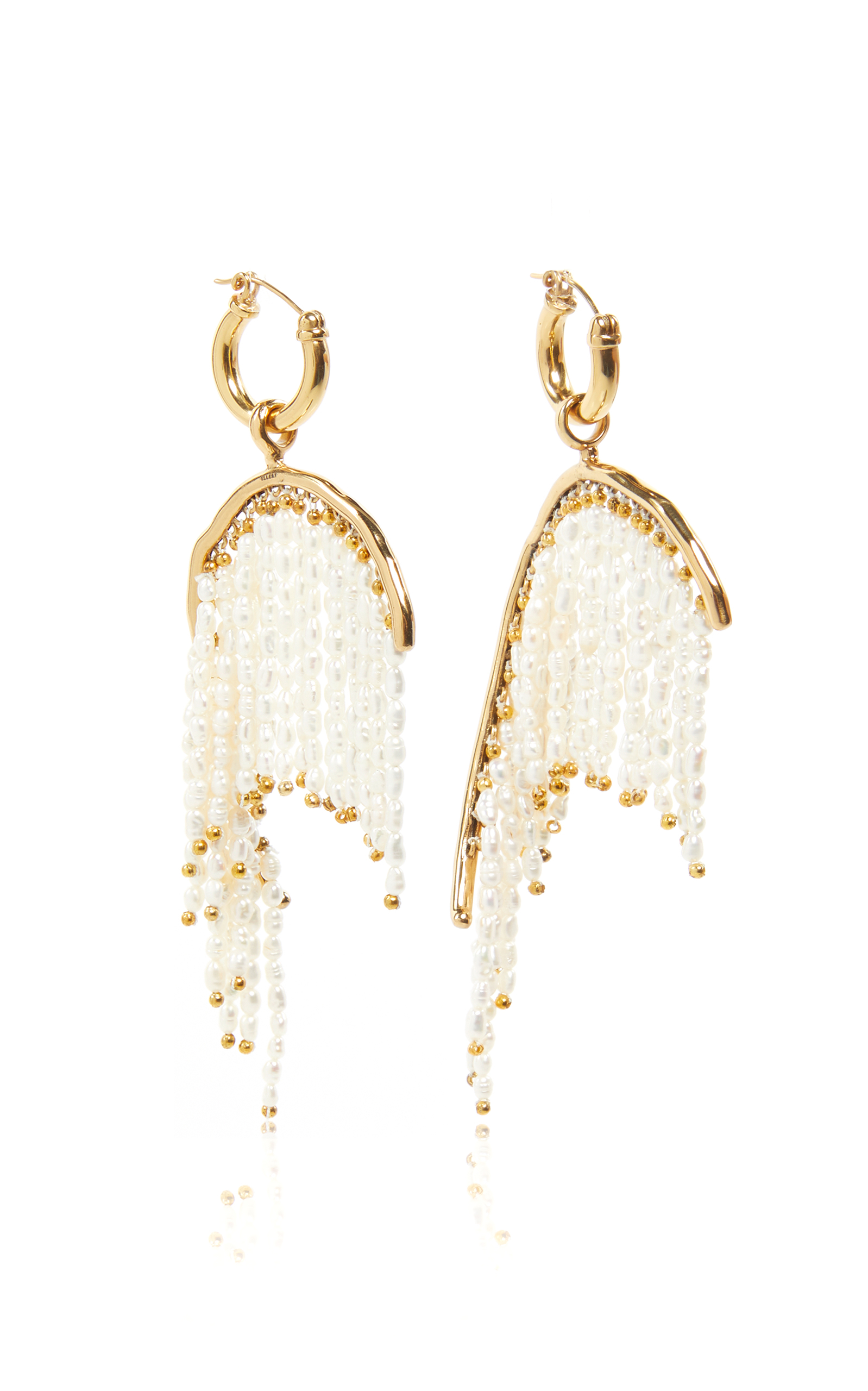 of the fate art fringe earrings gold empire products llc