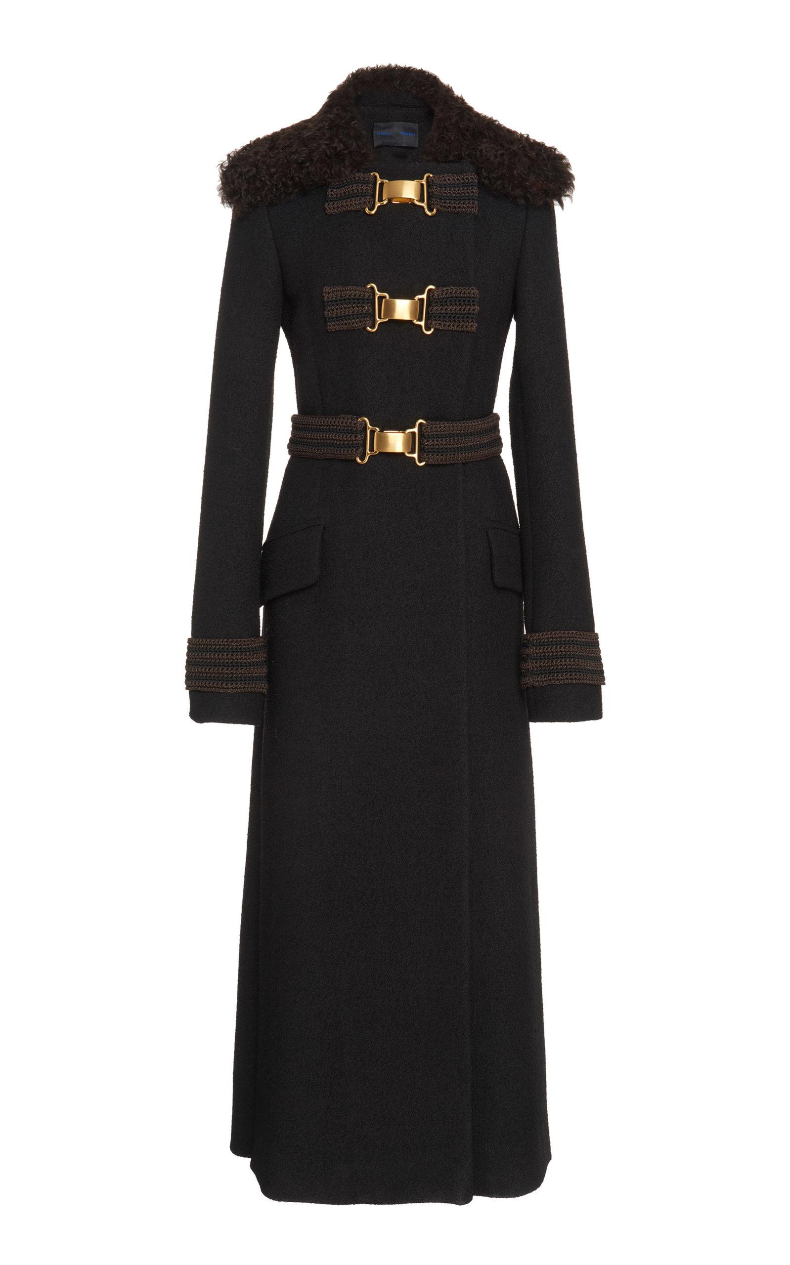 Boucle Long Coat by Proenza Schouler