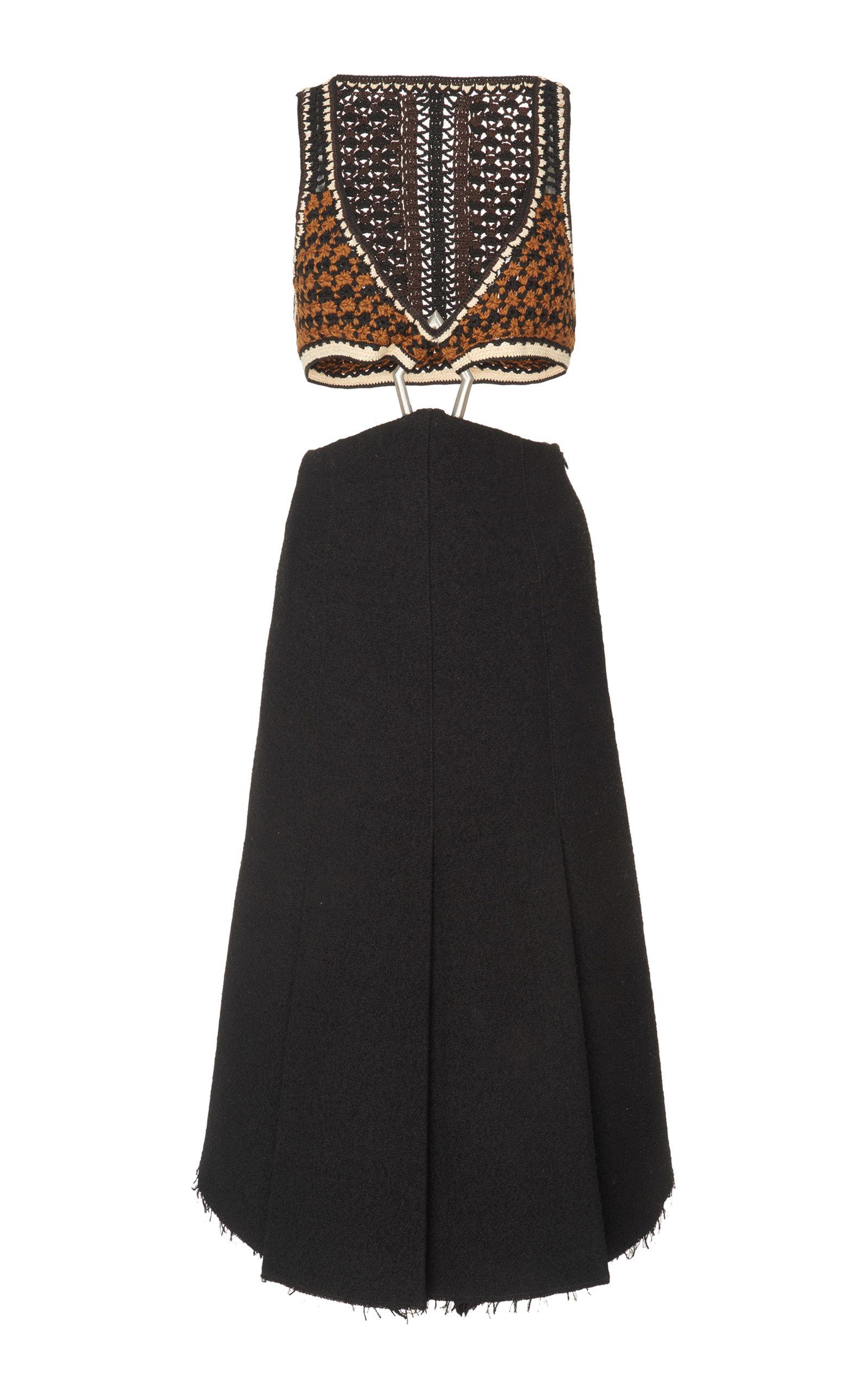 Cutout A-Line Dress Proenza Schouler Manchester FZt0A