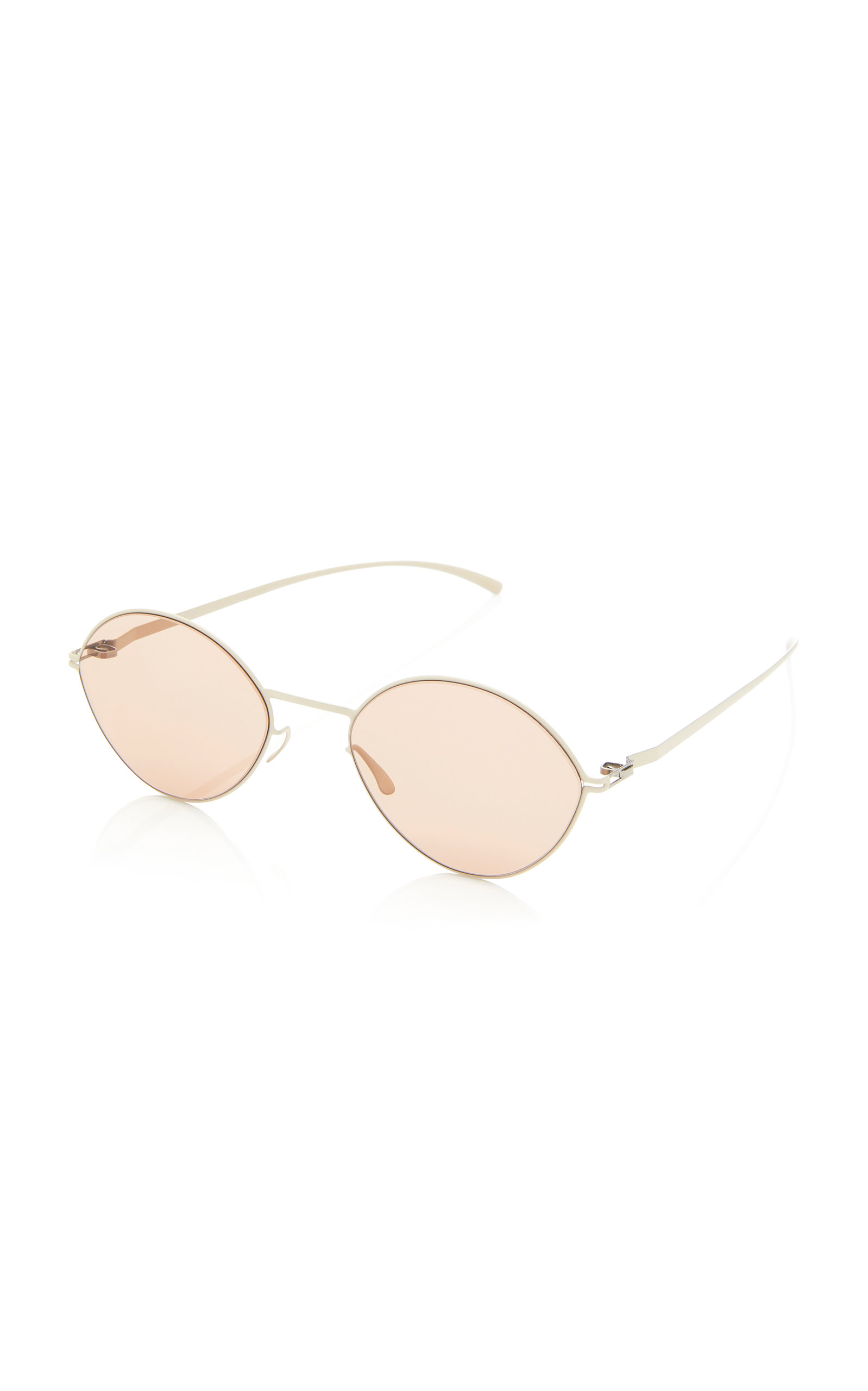 Round-Frame Stainless Steel Sunglasses Mykita 3Ouh2aY