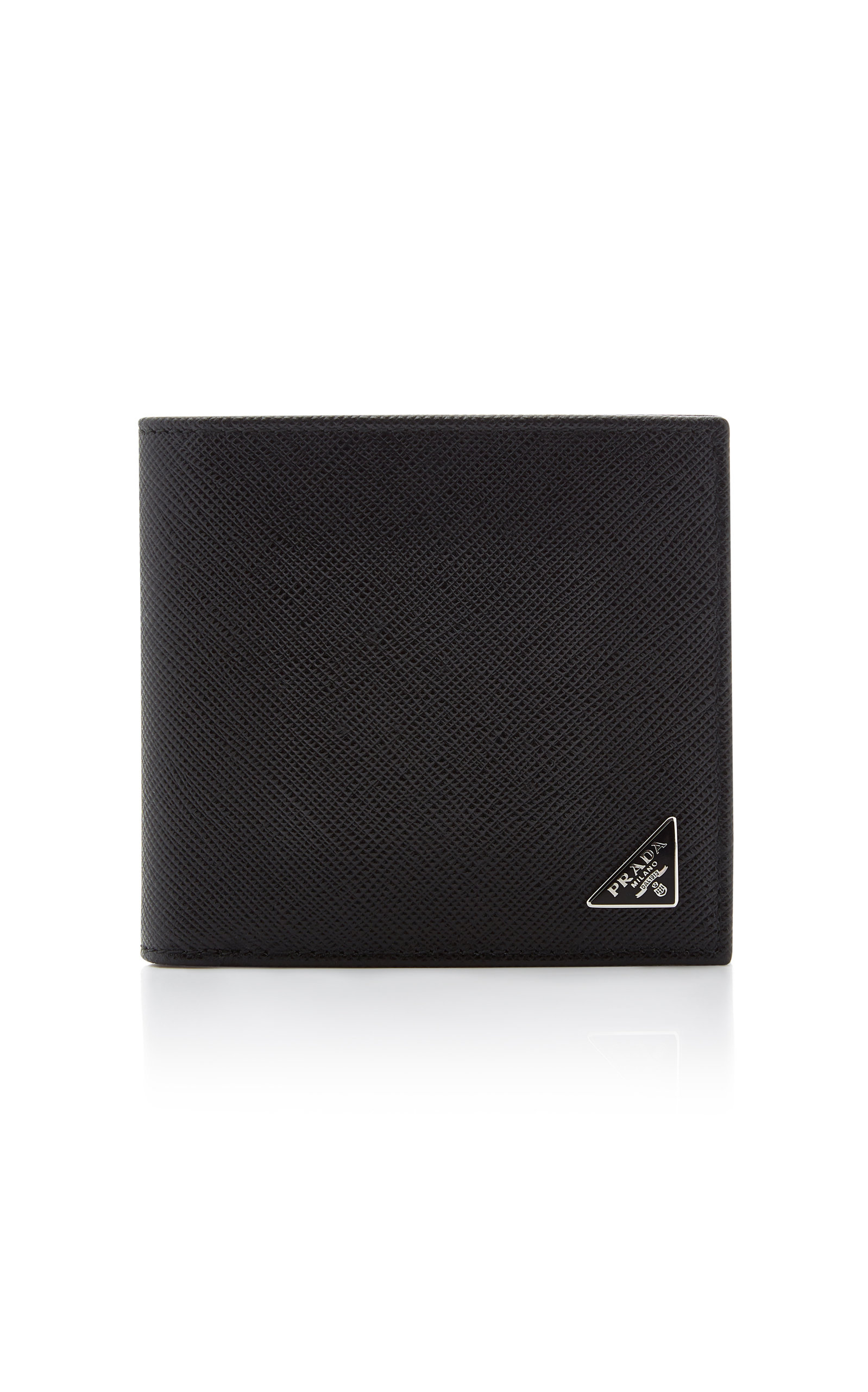 a0102b3d3805f1 Saffiano Leather 6cc Wallet by Prada | Moda Operandi