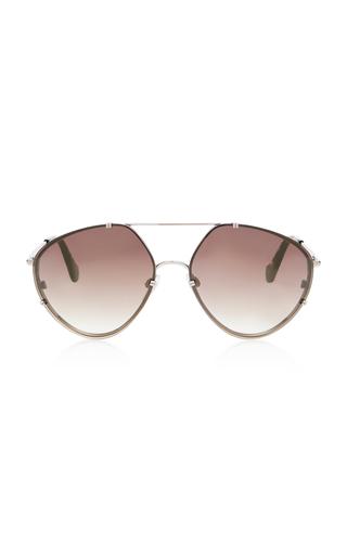 BALENCIAGA SUNGLASSES | Balenciaga Sunglasses Aviator-Style Metal Sunglasses | Goxip
