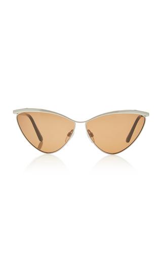 BALENCIAGA SUNGLASSES | Balenciaga Sunglasses Cat-eye Metal Sunglasses | Goxip