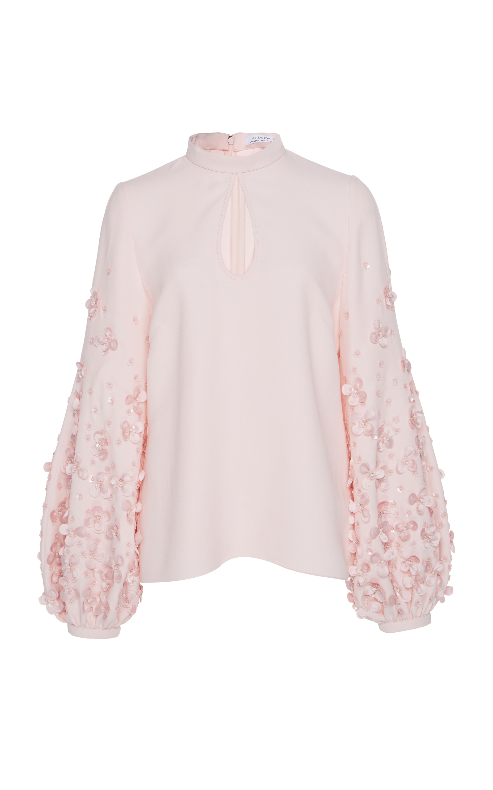 Poof Sleeve Top Andrew Gn Sale Store OXs9RKunD1