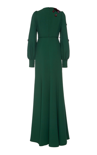 V-Neck Gown Andrew Gn Clearance Great Deals LIiI1WD