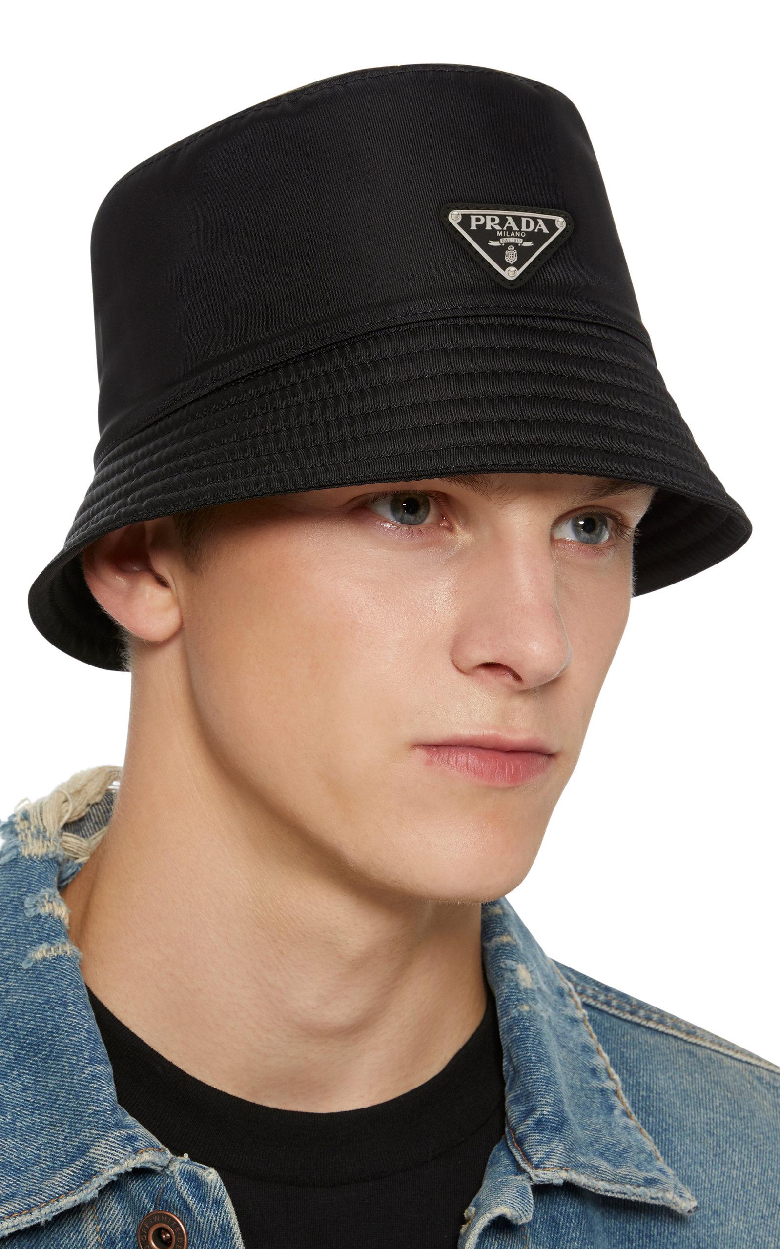 9427f264 Logo-Appliquéd Nylon Bucket Hat by Prada | Moda Operandi