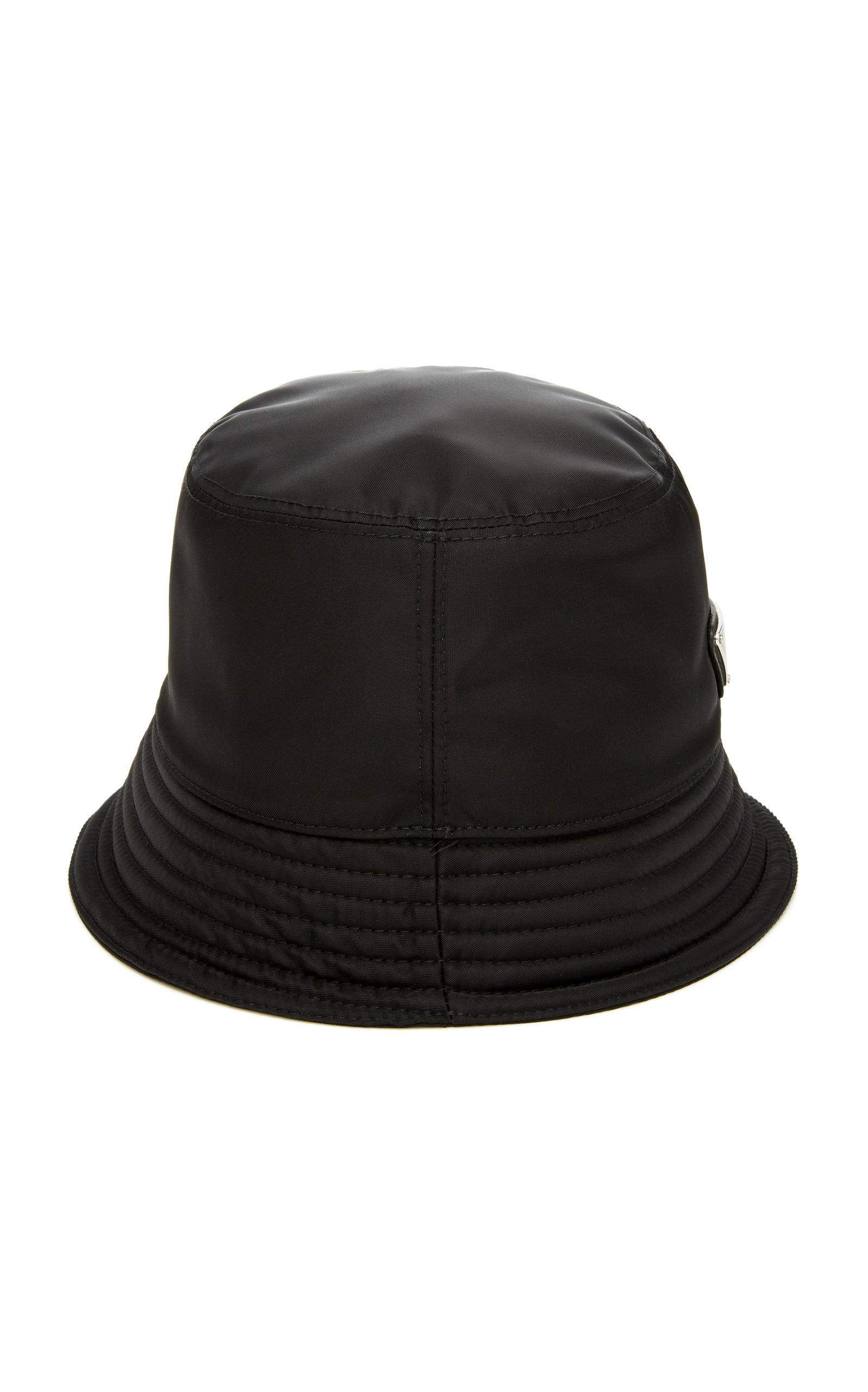 cb5e03f865f Prada mens nylon bucket hat with logo in black modesens jpg 1598x2560 Prada  sun hat