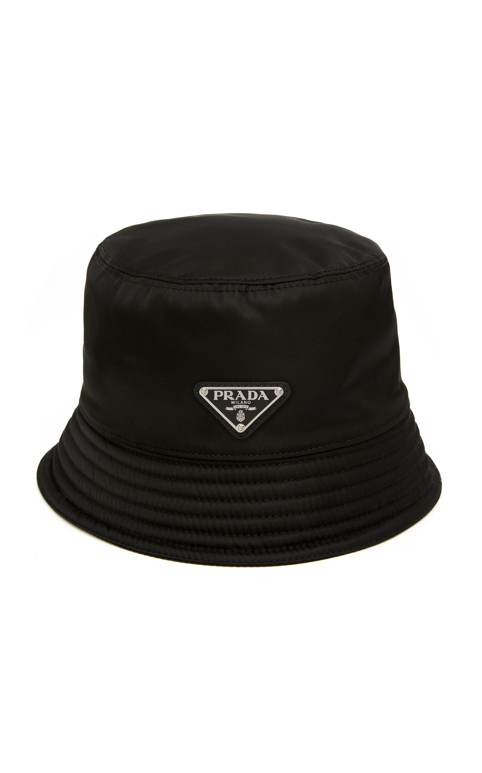 05a2f69f6d9 Prada Men. PRADA. Men s Nylon Bucket Hat With Logo