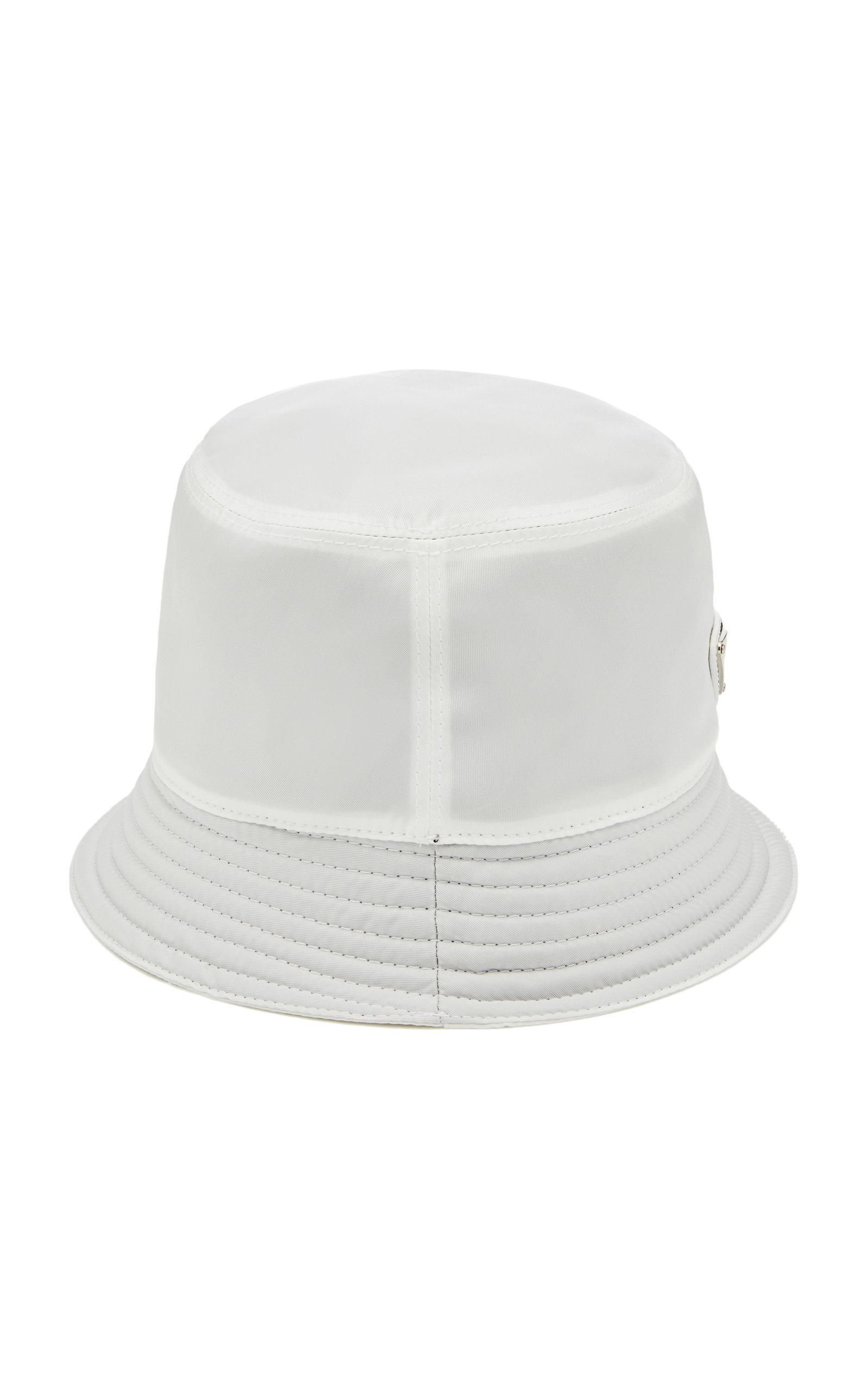 2a82a401 Logo-Appliquéd Nylon Bucket Hat by Prada   Moda Operandi