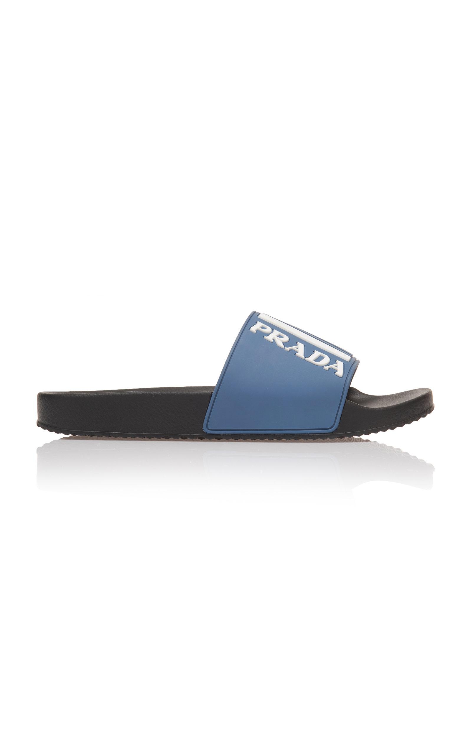 6adb98ace357 PradaLogo Rubber Slides. CLOSE. Loading