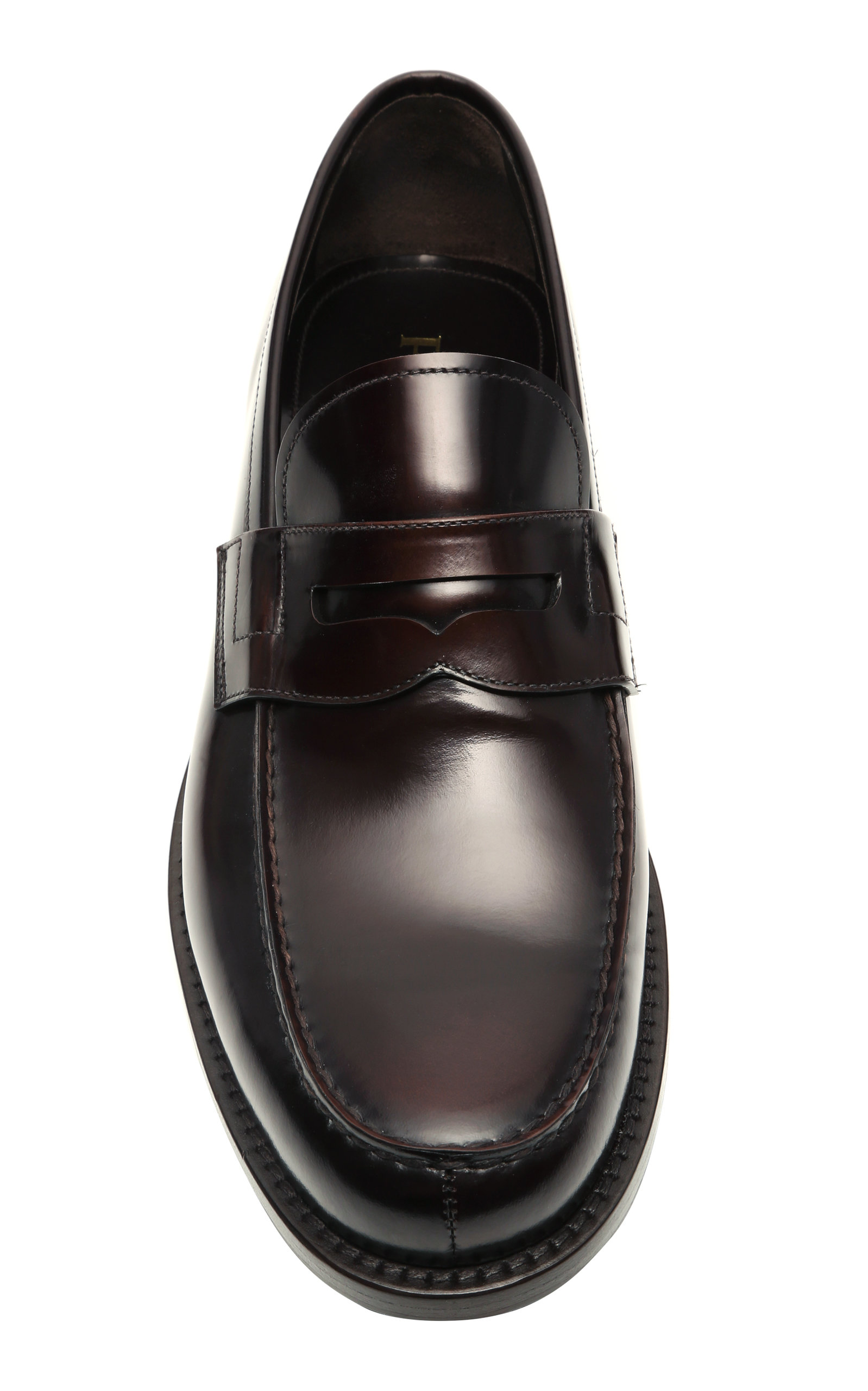 86c086859 ... inexpensive leather penny loafers by prada moda operandi 0889c 17518