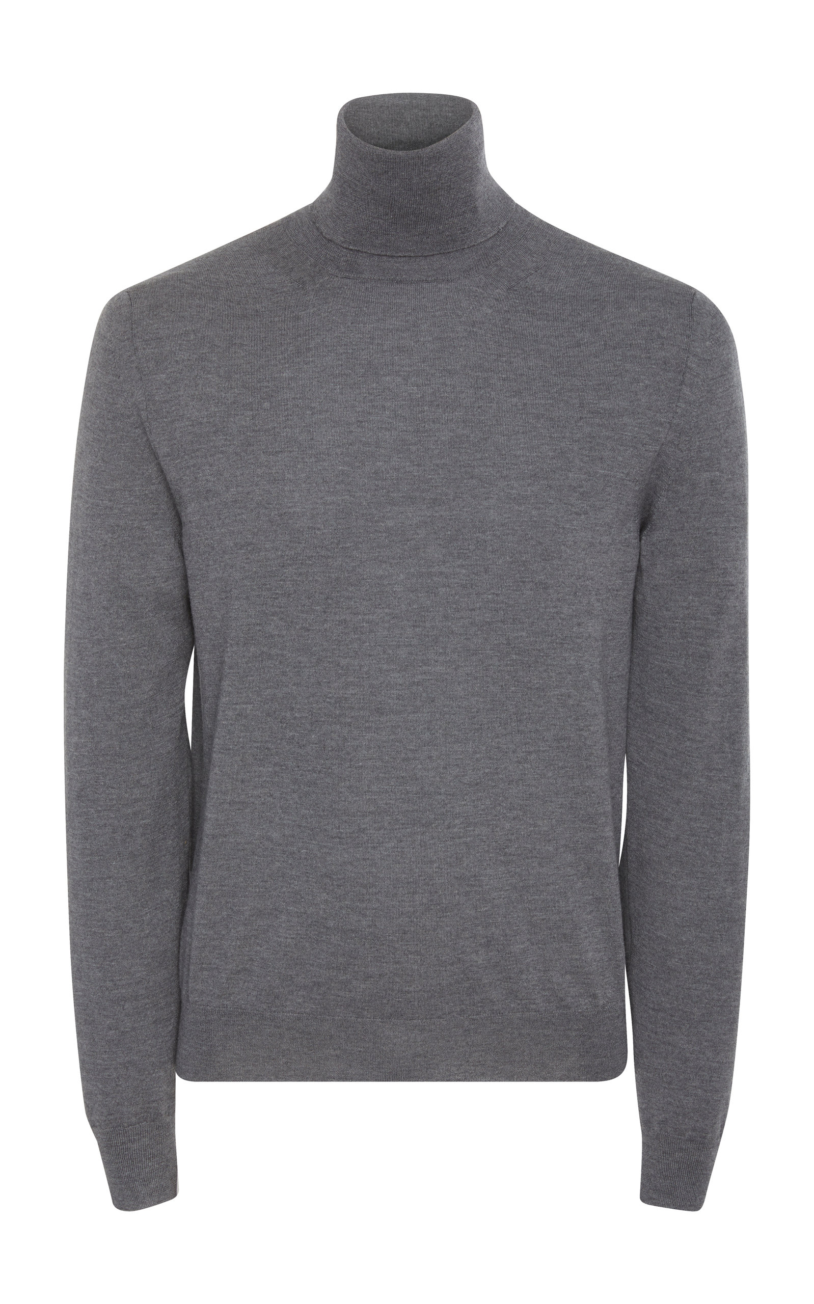 EIDOS MERINO WOOL AND CASHMERE TURTLENECK SWEATER