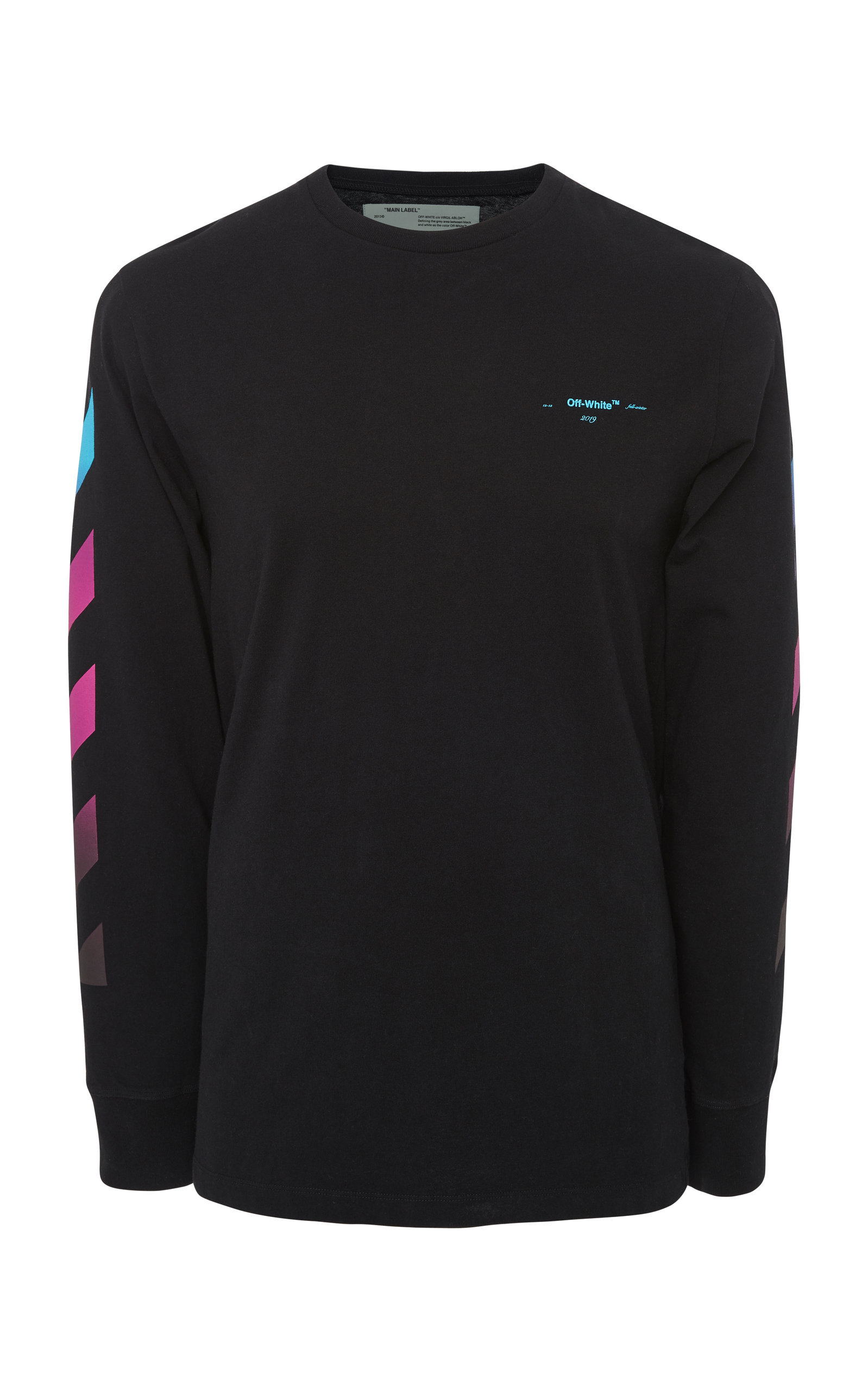4c0bcf0a Gradient Logo Long Sleeve T-Shirt by Off-White c/o Virgil Abloh ...