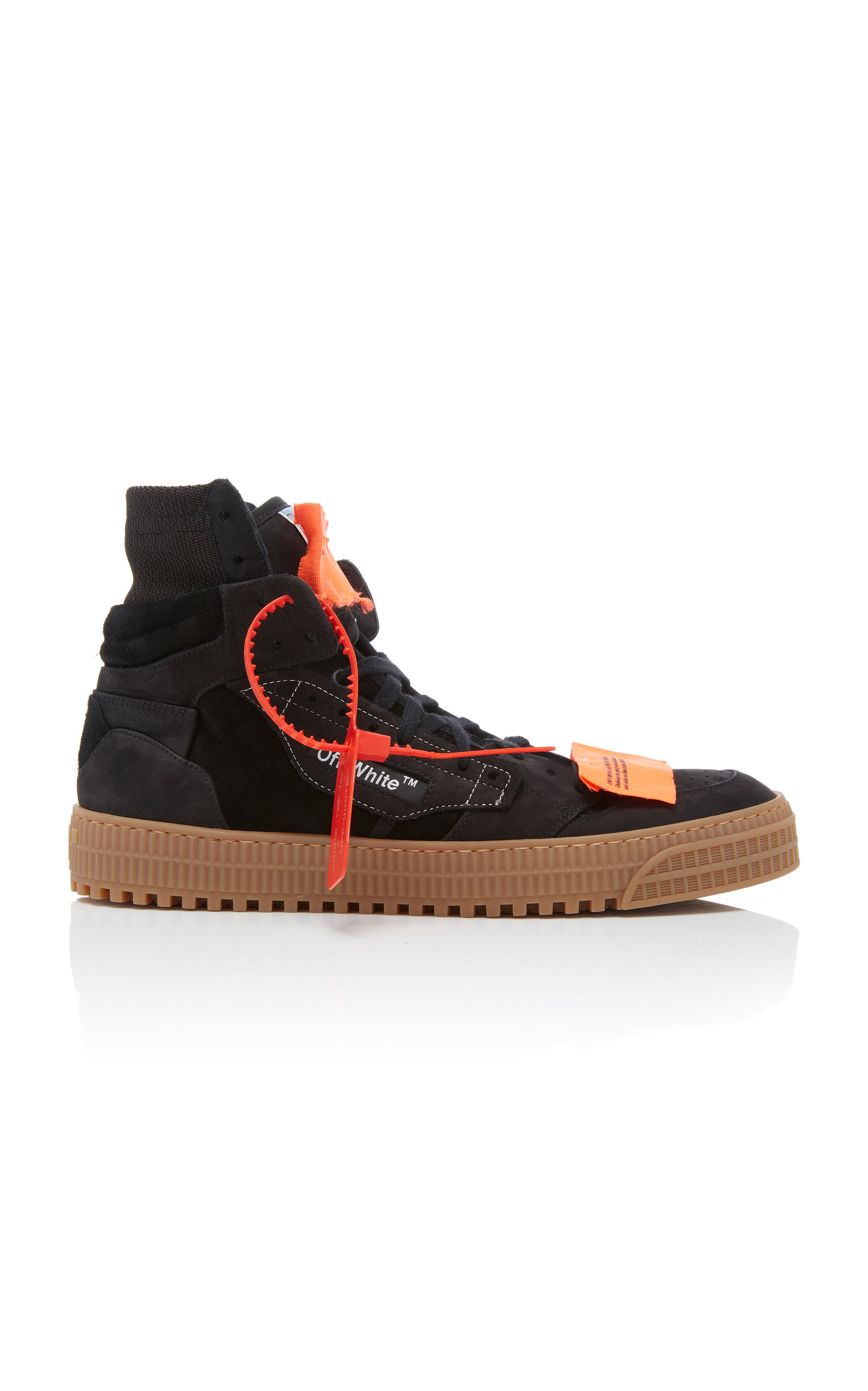 9fd638cae1d8 Off-White Men S Off Court Suede High-Top Sneakers In Black