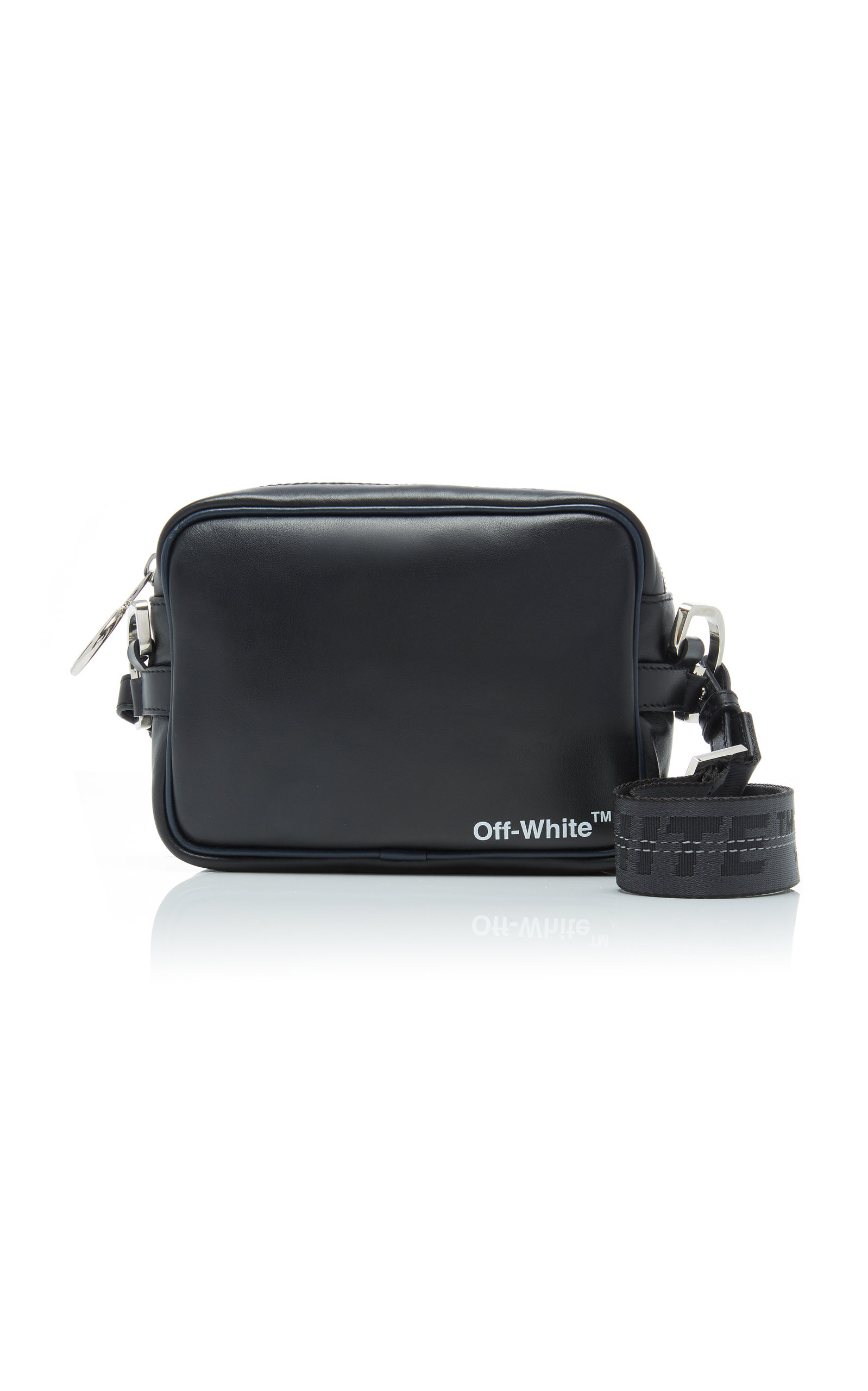 a3703a992c2d1 Printed Leather Crossbody Bag by Off-White c o Virgil Abloh