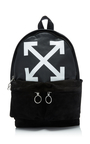 Printed Leather And Suede Backpack - Buy it while supplies last