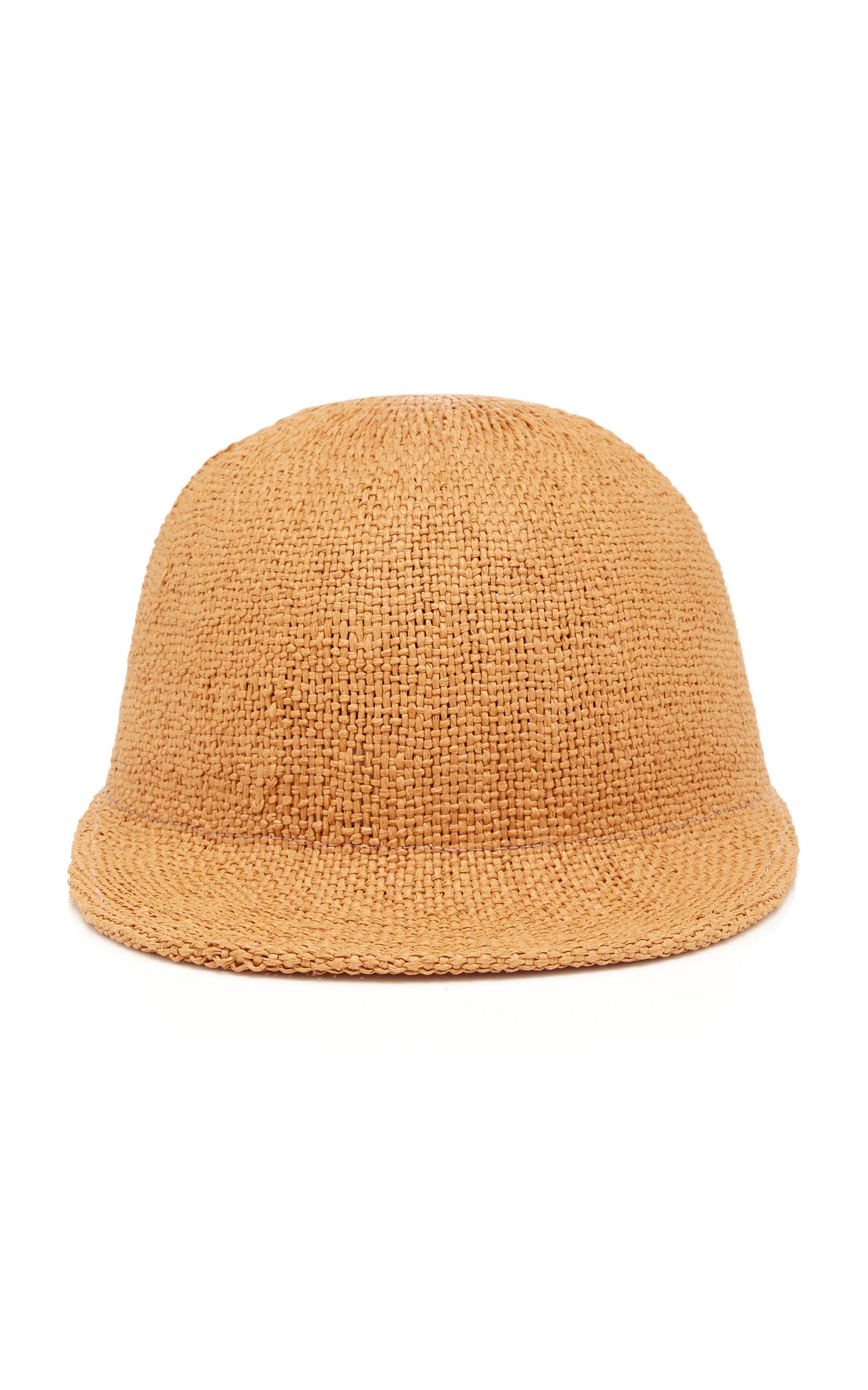 JANESSA LEONE DAMIEN STRAW CAP