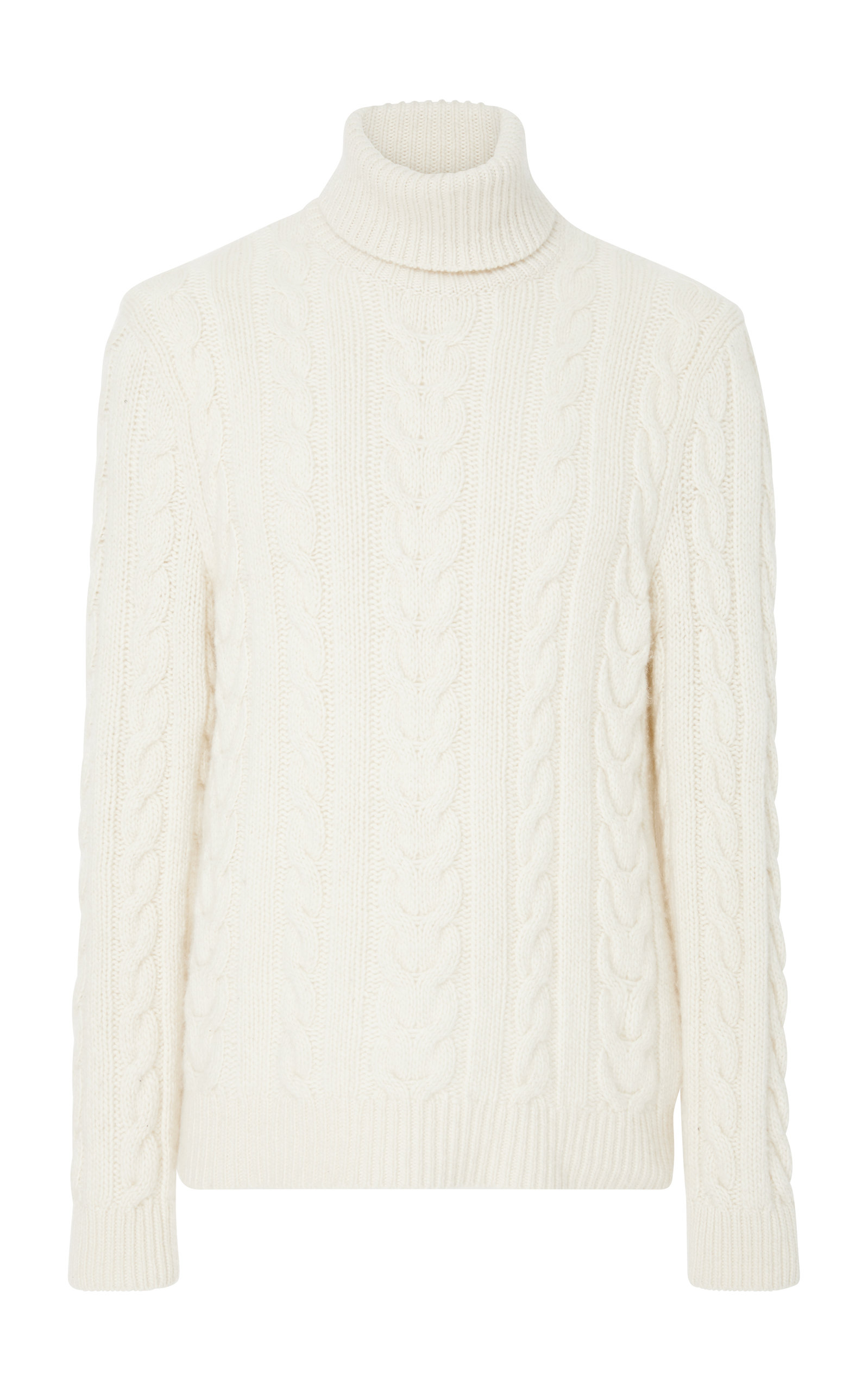 Ralph LaurenCable-Knit Cashmere Turtleneck Sweater. CLOSE. Loading 0936a416b