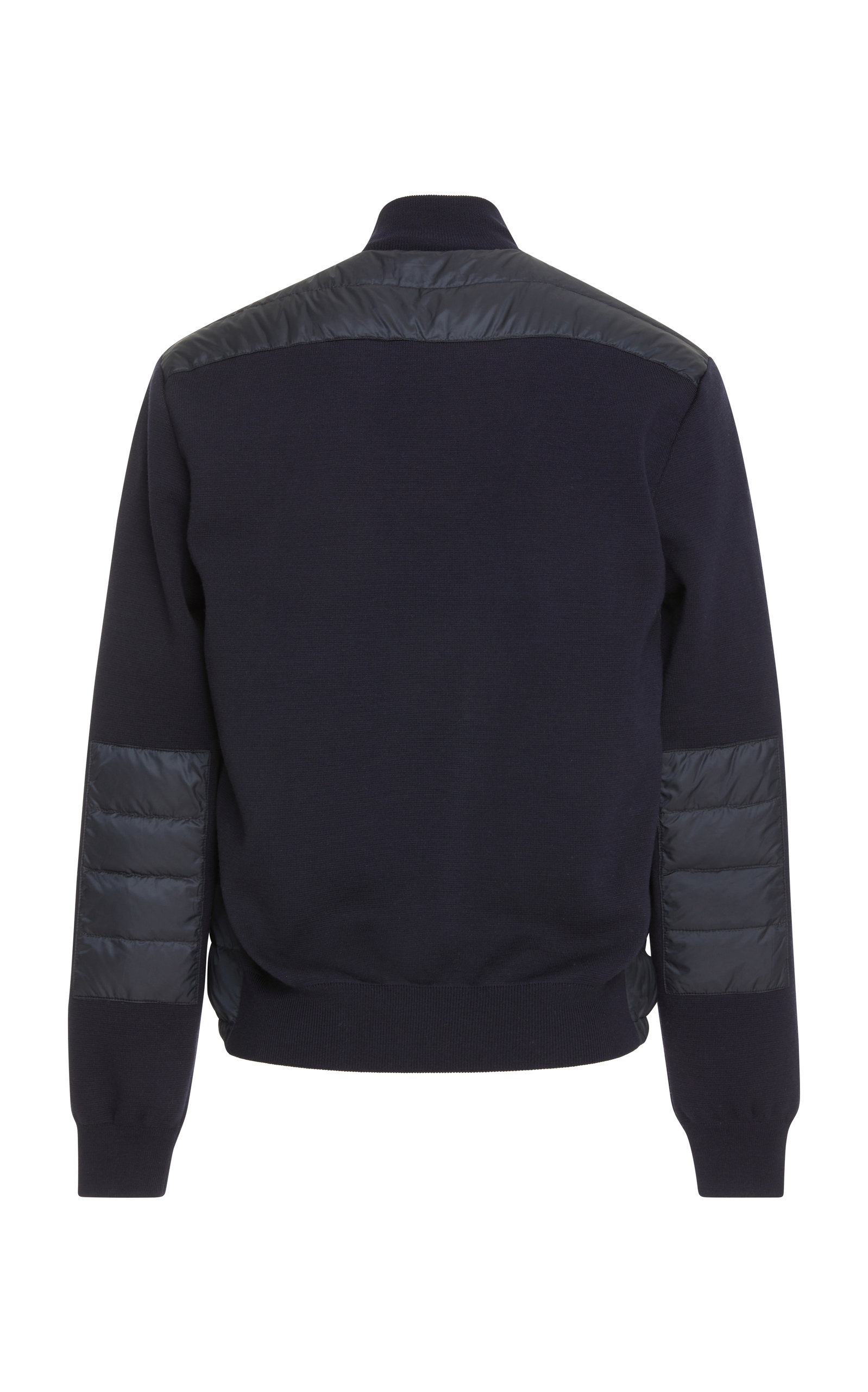 Shell Jacket Wool And Shop Stretch Lauren Paneled Navy In Quilted Ralph HxZUw4IqR