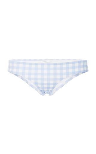 EPHEMERA   Ephemera Gingham Classic Bikini Bottom   Goxip