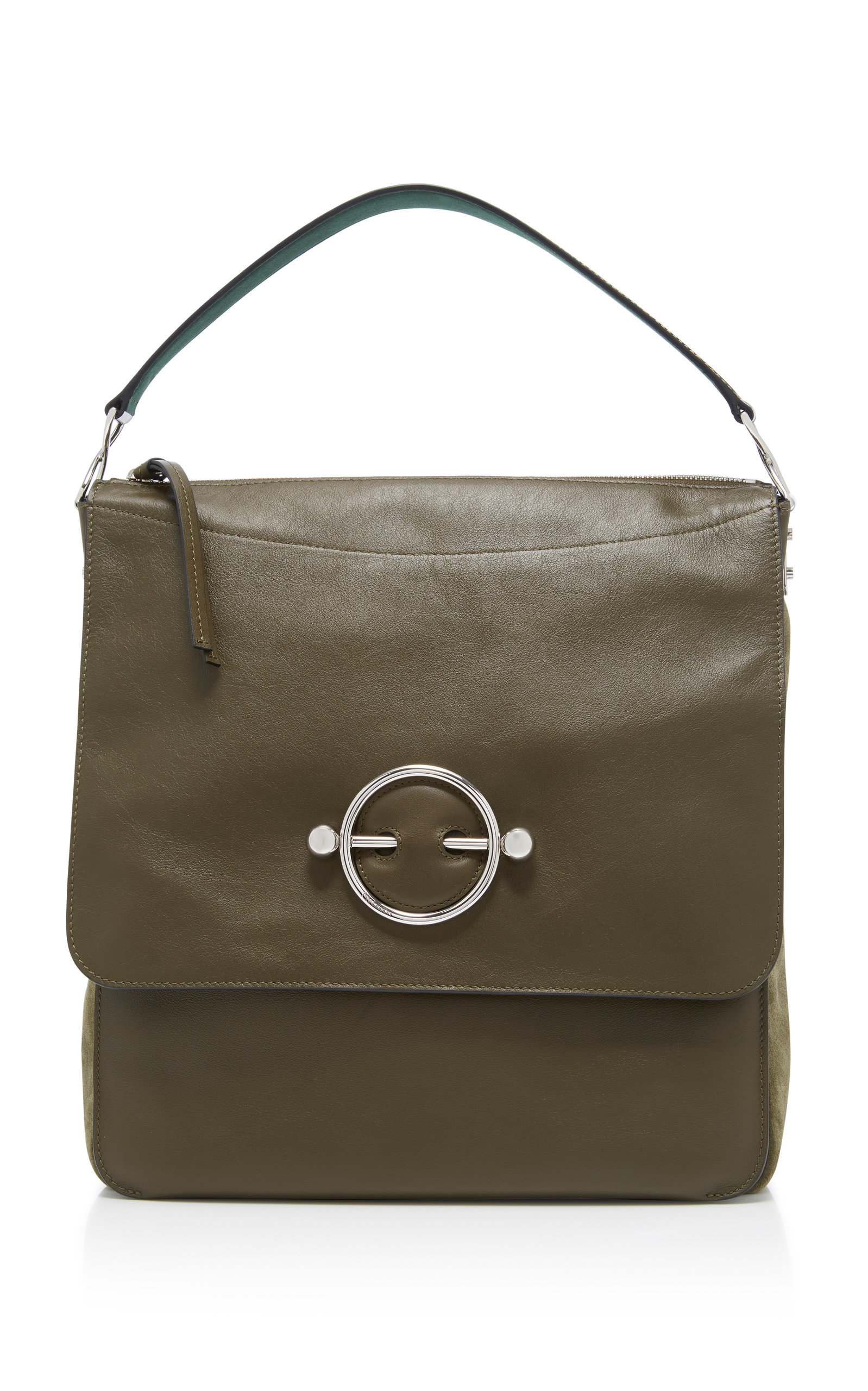 J.w.anderson DISC LEATHER HOBO BAG