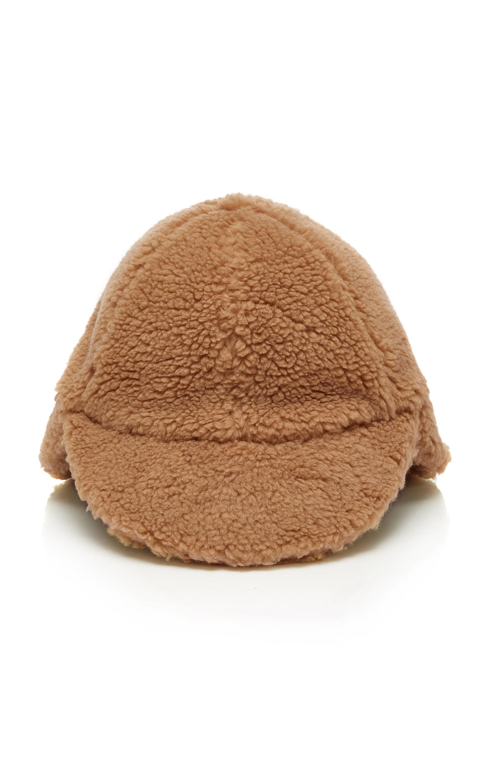 FEDERICA MORETTI SHEARLING CAP