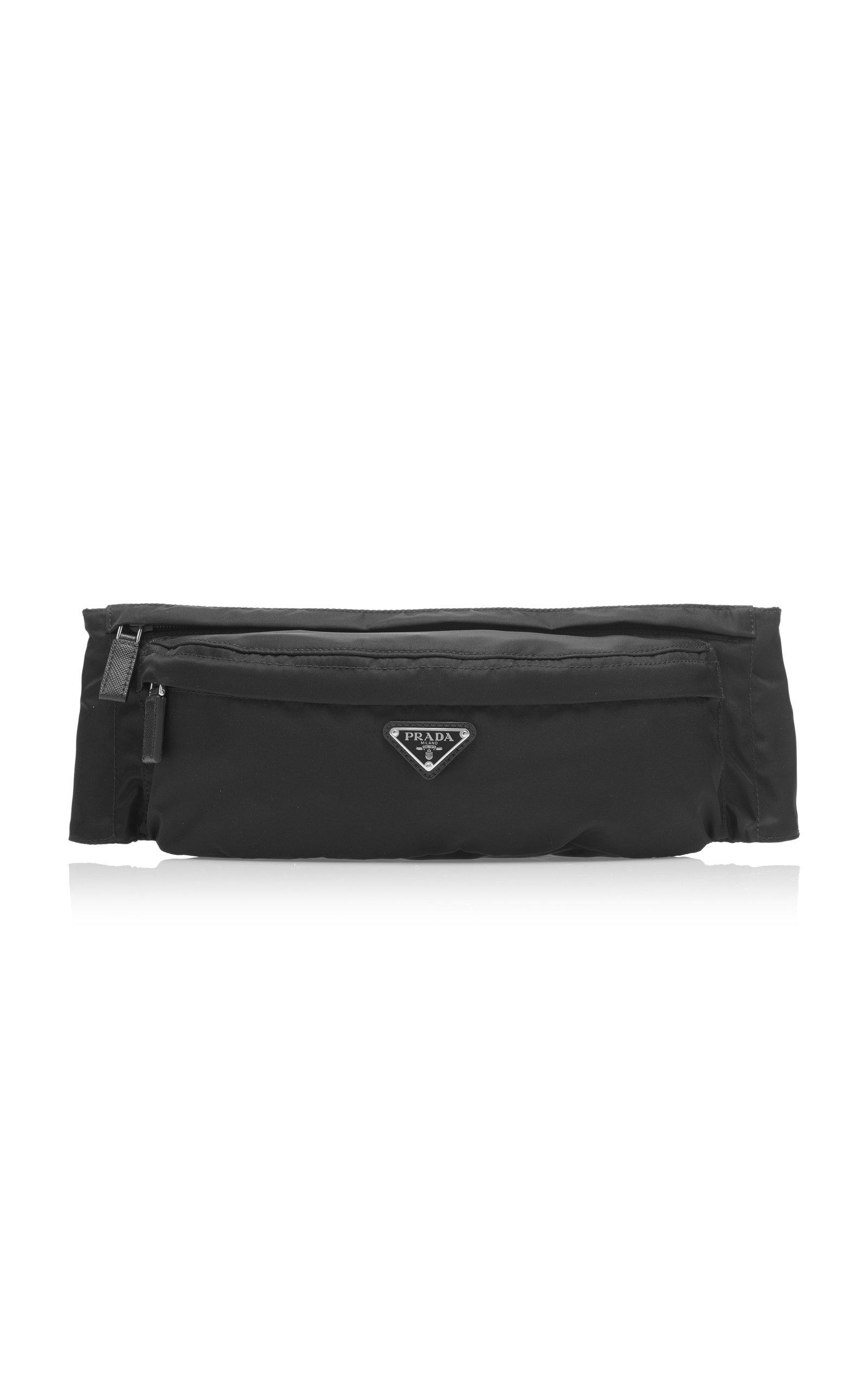 Prada Tessuto Waist Pack - Black In F0002