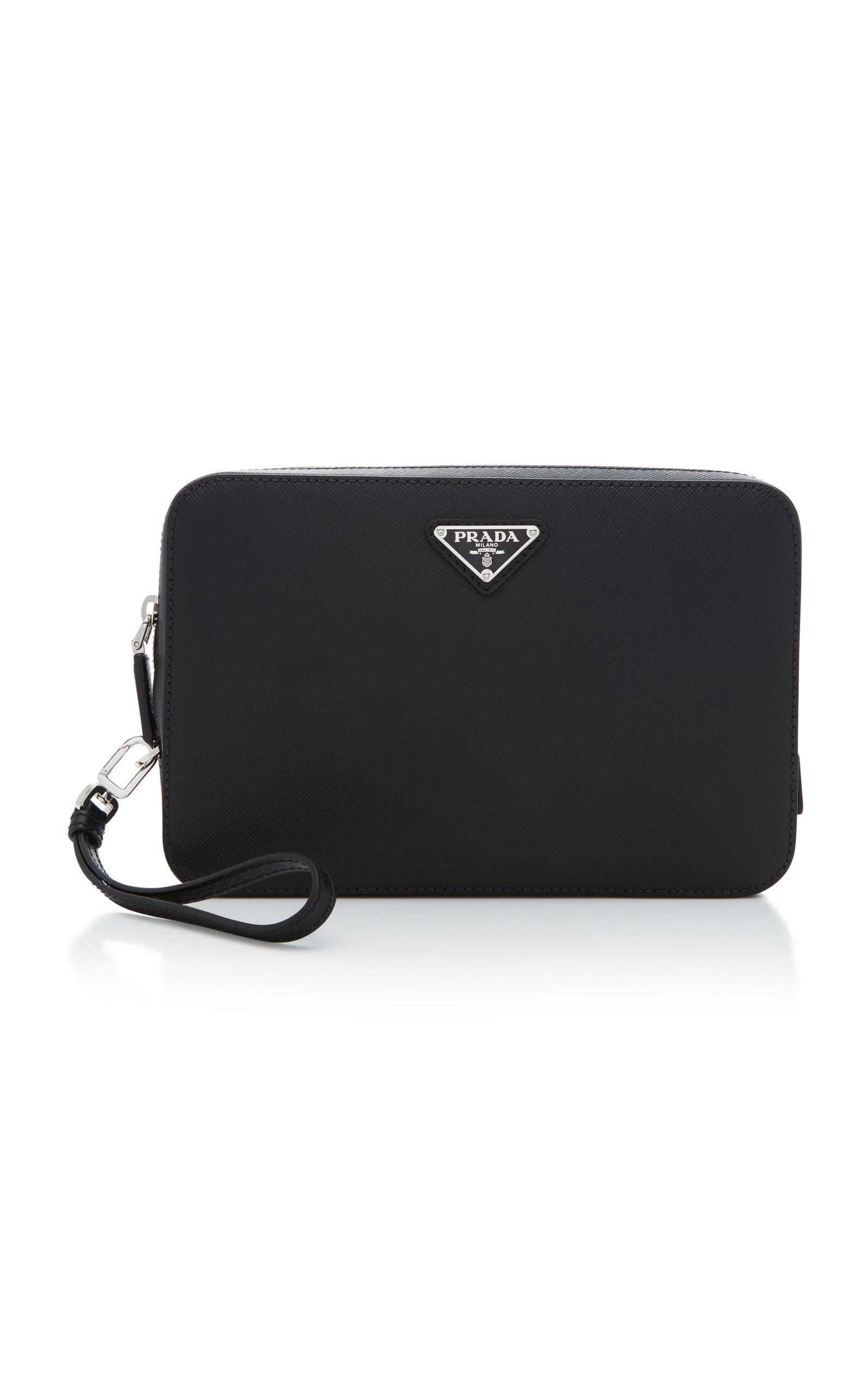 ca28ab4d05d Saffiano Leather Pouch by Prada | Moda Operandi