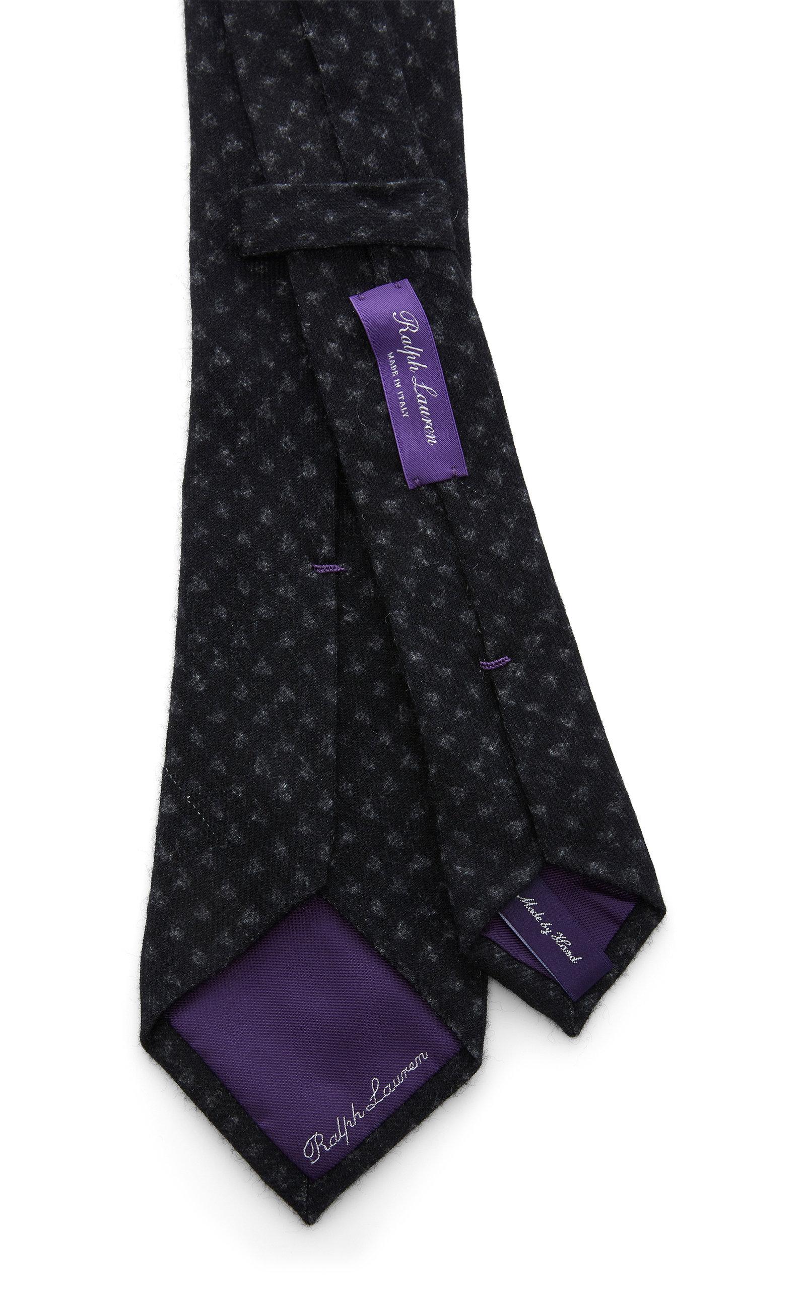 6cm Houndstooth Felt Tie Ralph Lauren EXXzXI