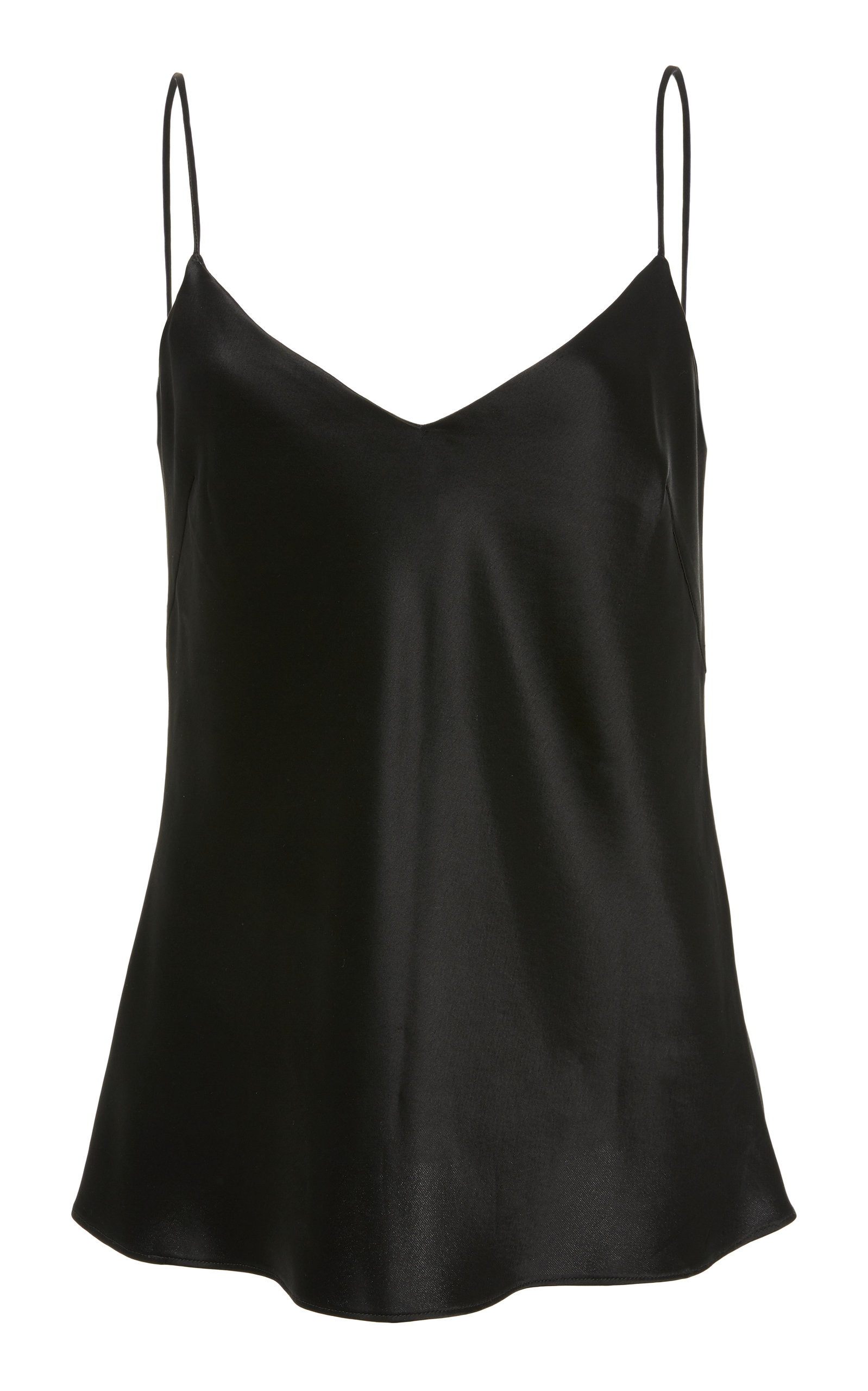 SATIN V NECK CAMISOLE