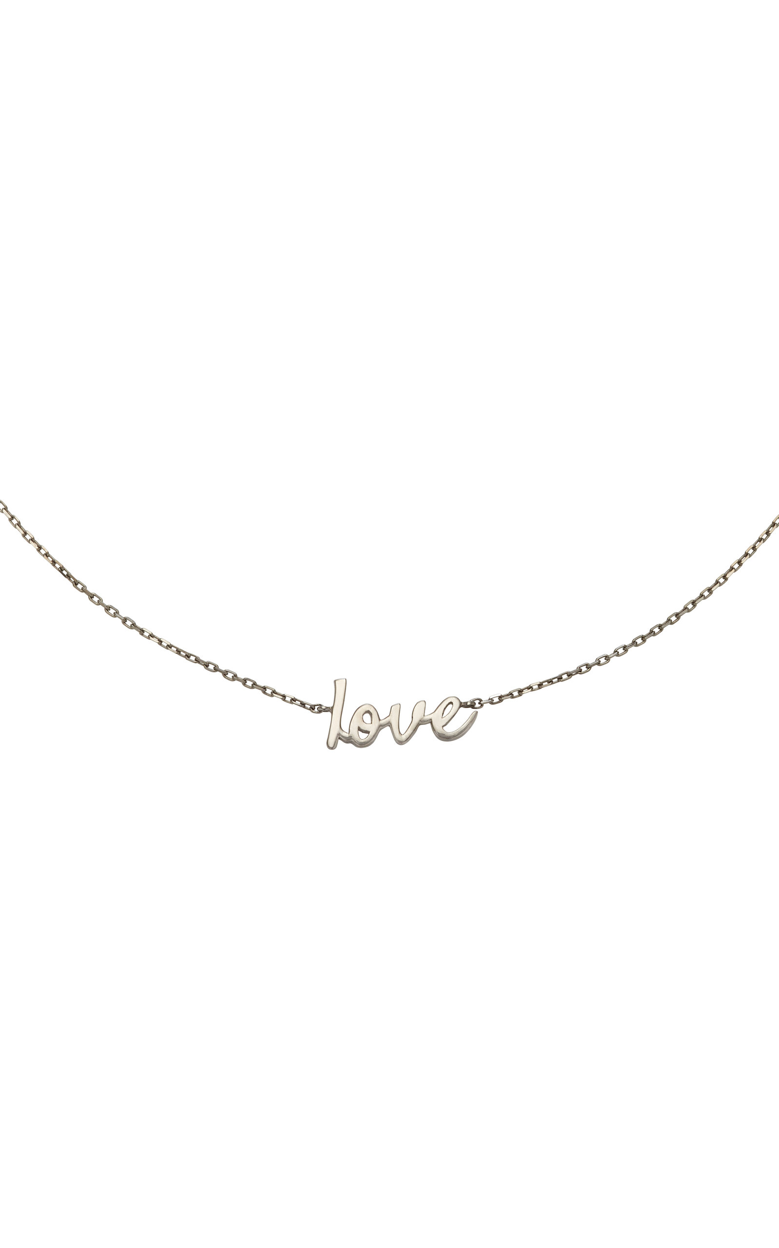 Jack Vartanian Love Rhodium-Plated 18K White Gold Choker