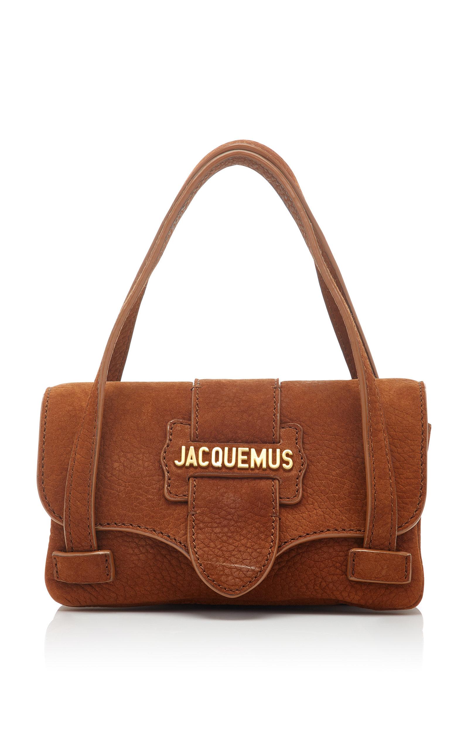 Le Minho Nubuck Leather Micro Bag Jacquemus UW6UFm