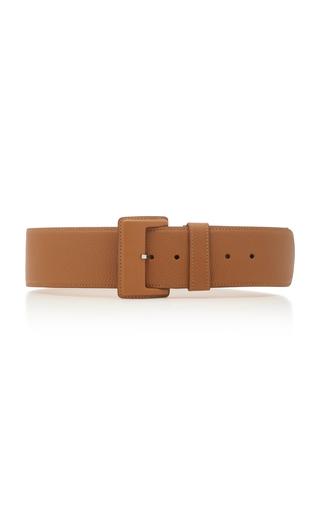 MAISON VAINCOURT | Maison Vaincourt Textured-Leather Belt | Goxip