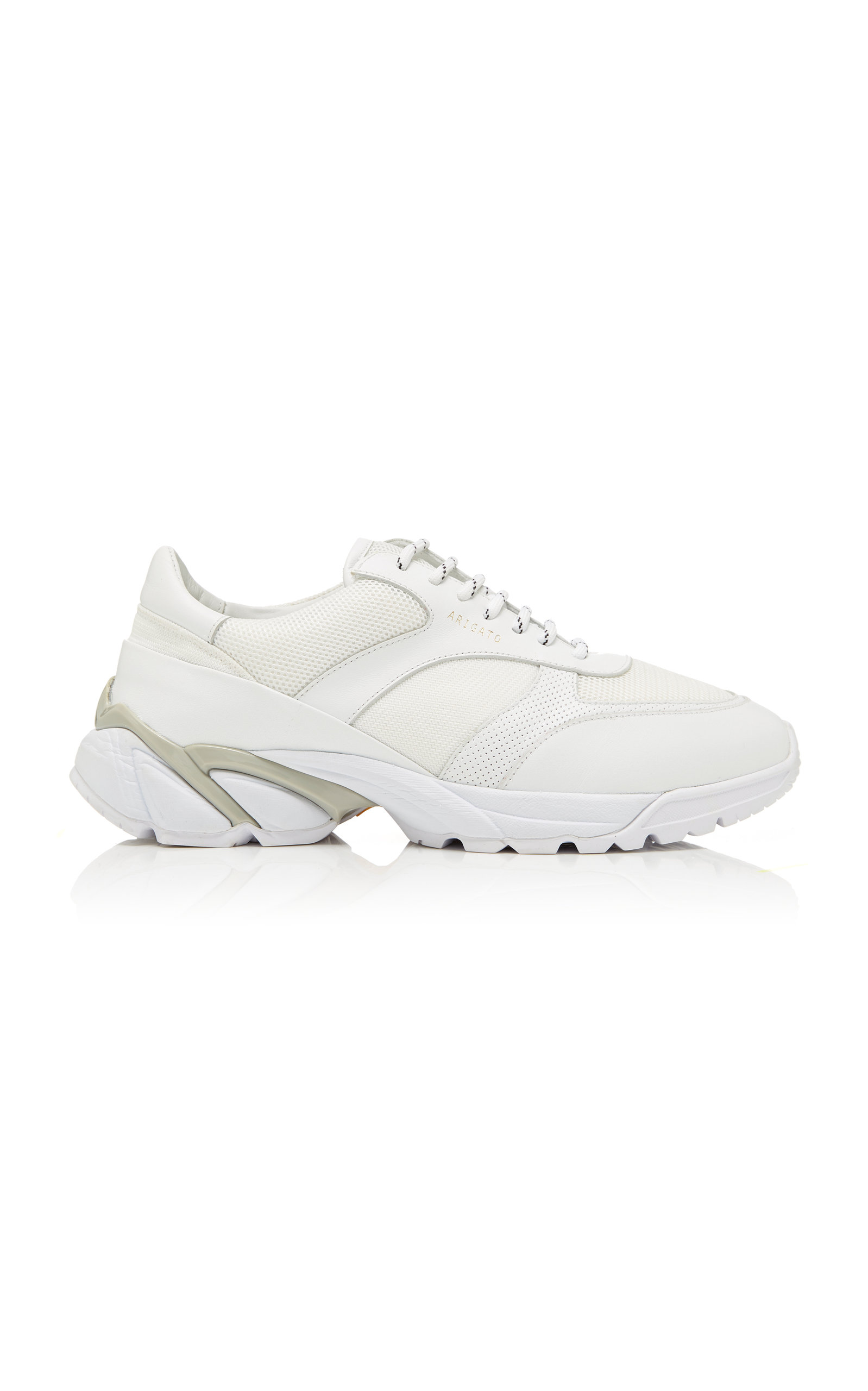 Tech Runner Core Leather-Trimmed Mesh Sneakers Axel Arigato Lwgnuh9