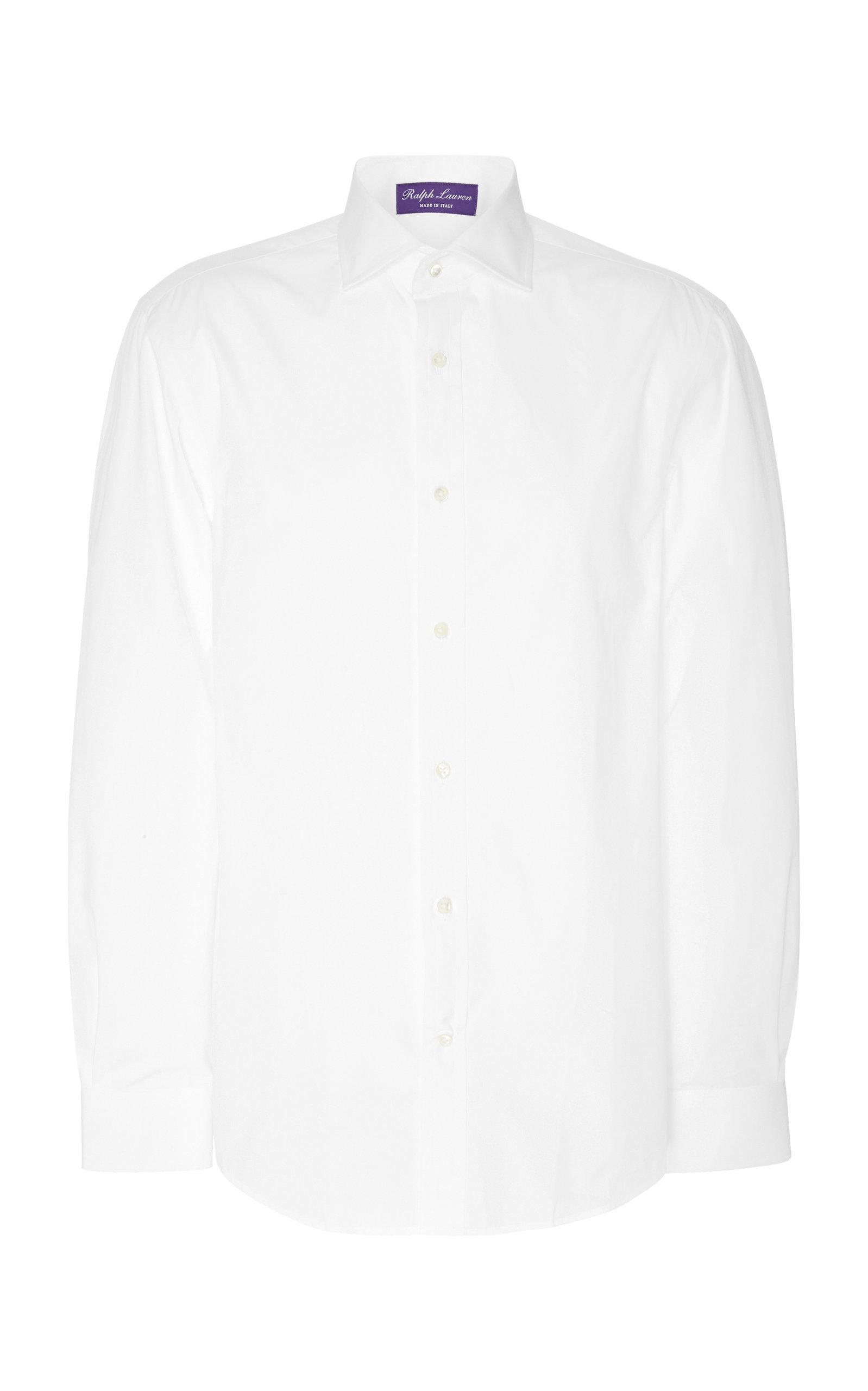 Shop Ralph Lauren Bond Poplin Dress Shirt In White