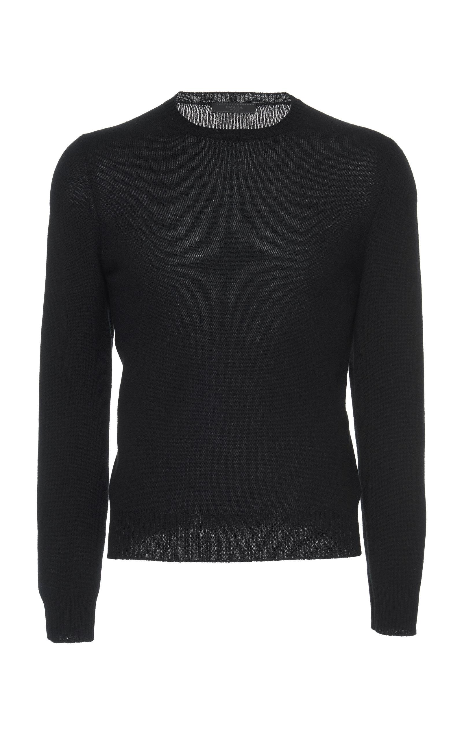 PRADA | Prada Cashmere Crewneck Sweater | Goxip