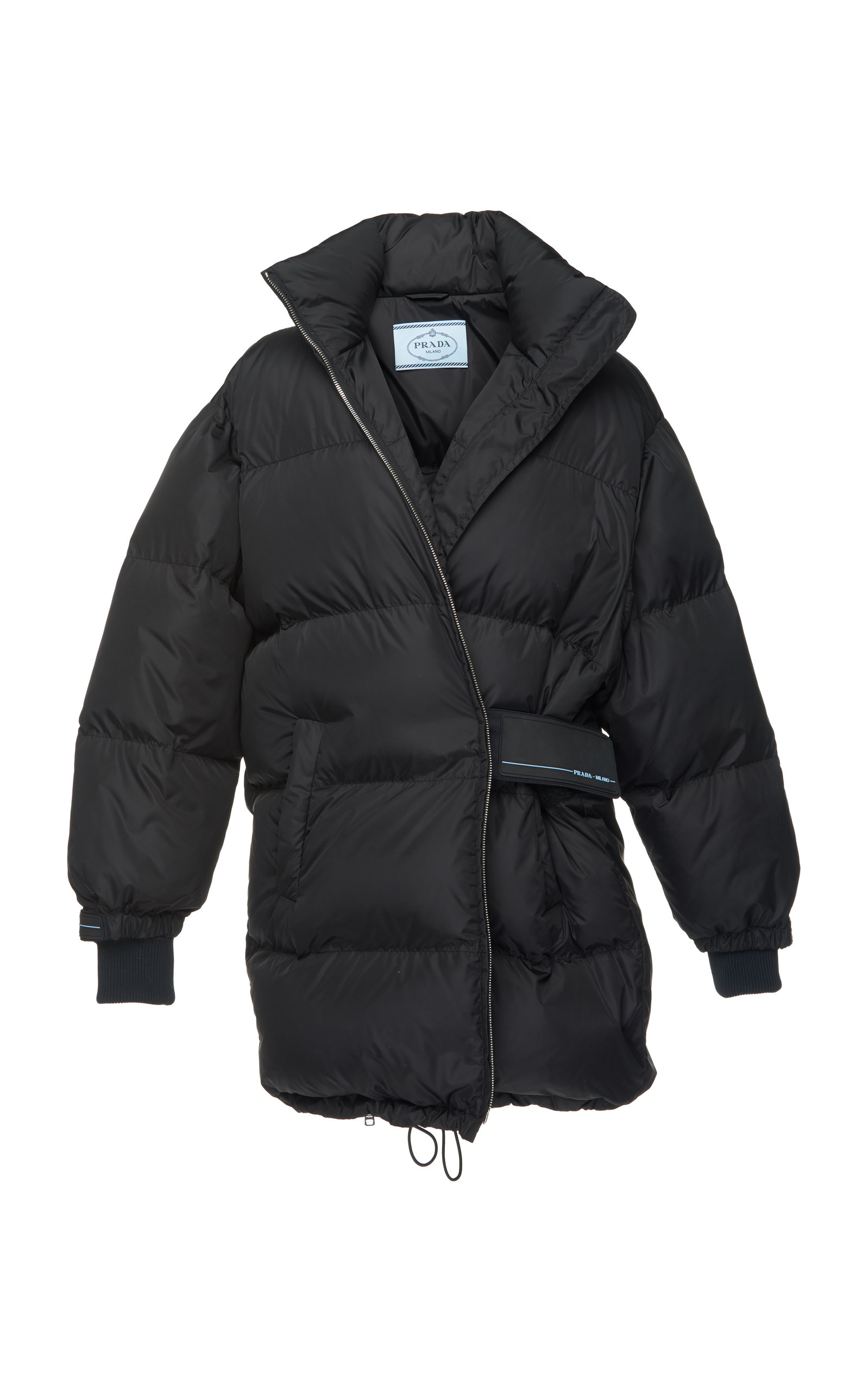 QUILTED SHELL PUFFER COAT