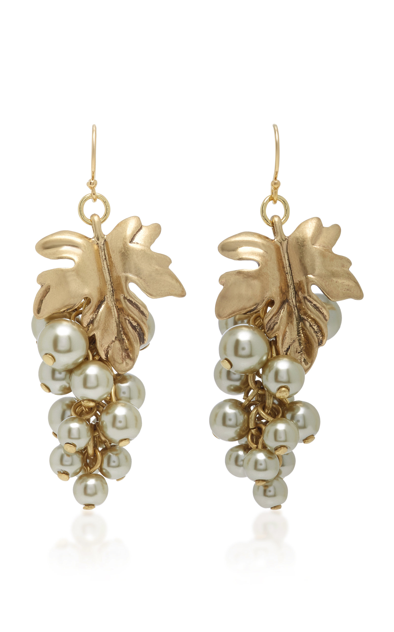 gold daisy plated earrings fashionology en hoop