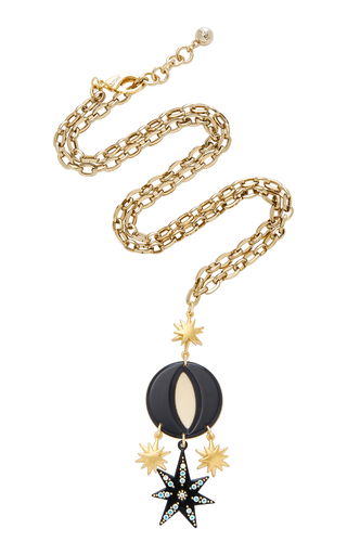 Necklaces moda operandi lulu frostorana long gold plated brass pendant necklace mozeypictures Choice Image