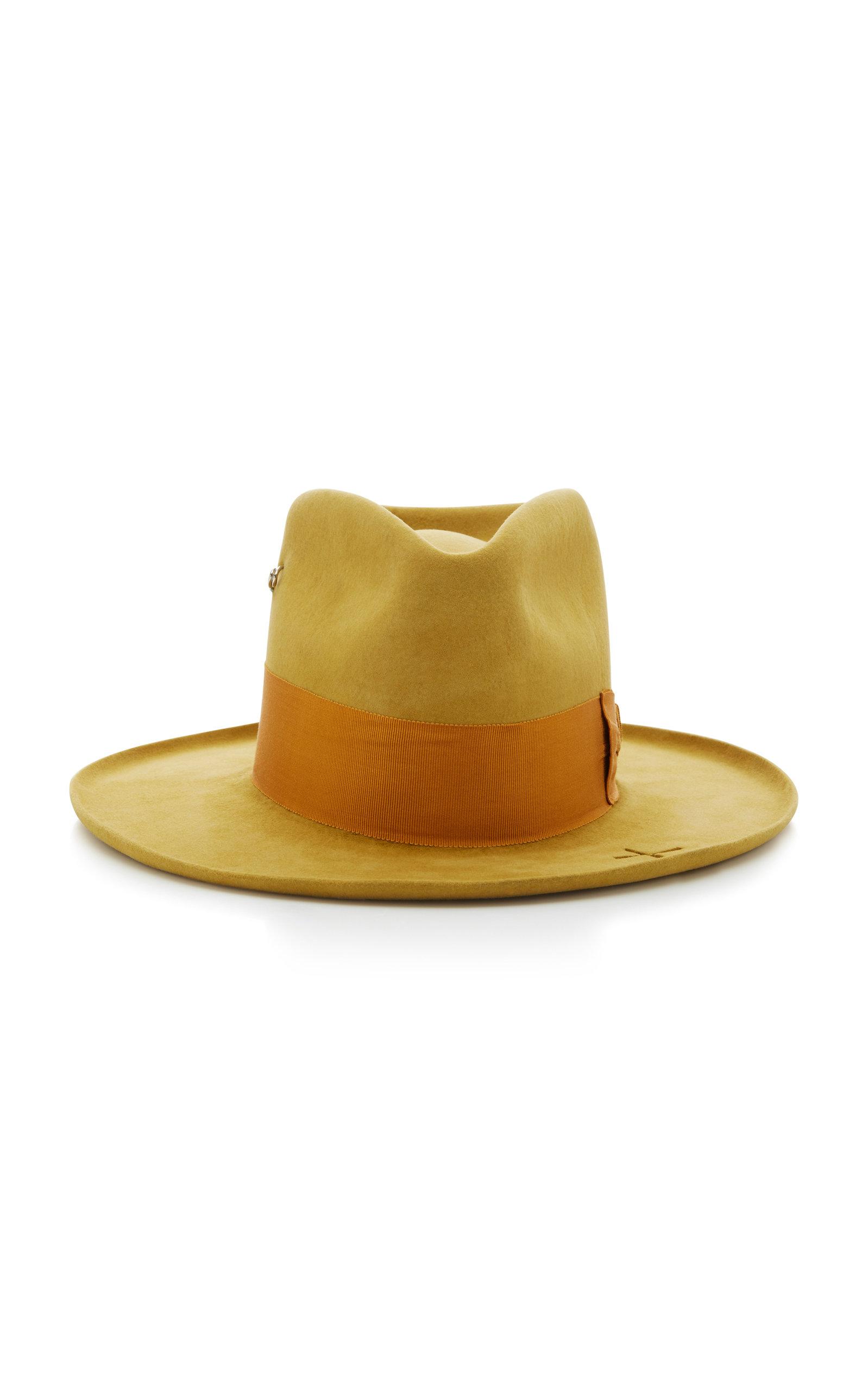 f911abb7 Oasis Beaver Felt Fedora Hat by Nick Fouquet | Moda Operandi